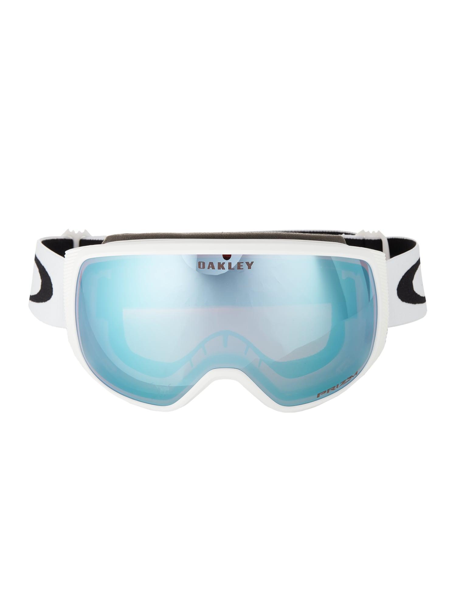OAKLEY Sportiniai akiniai 'Flight Tracker M' safyro / balta