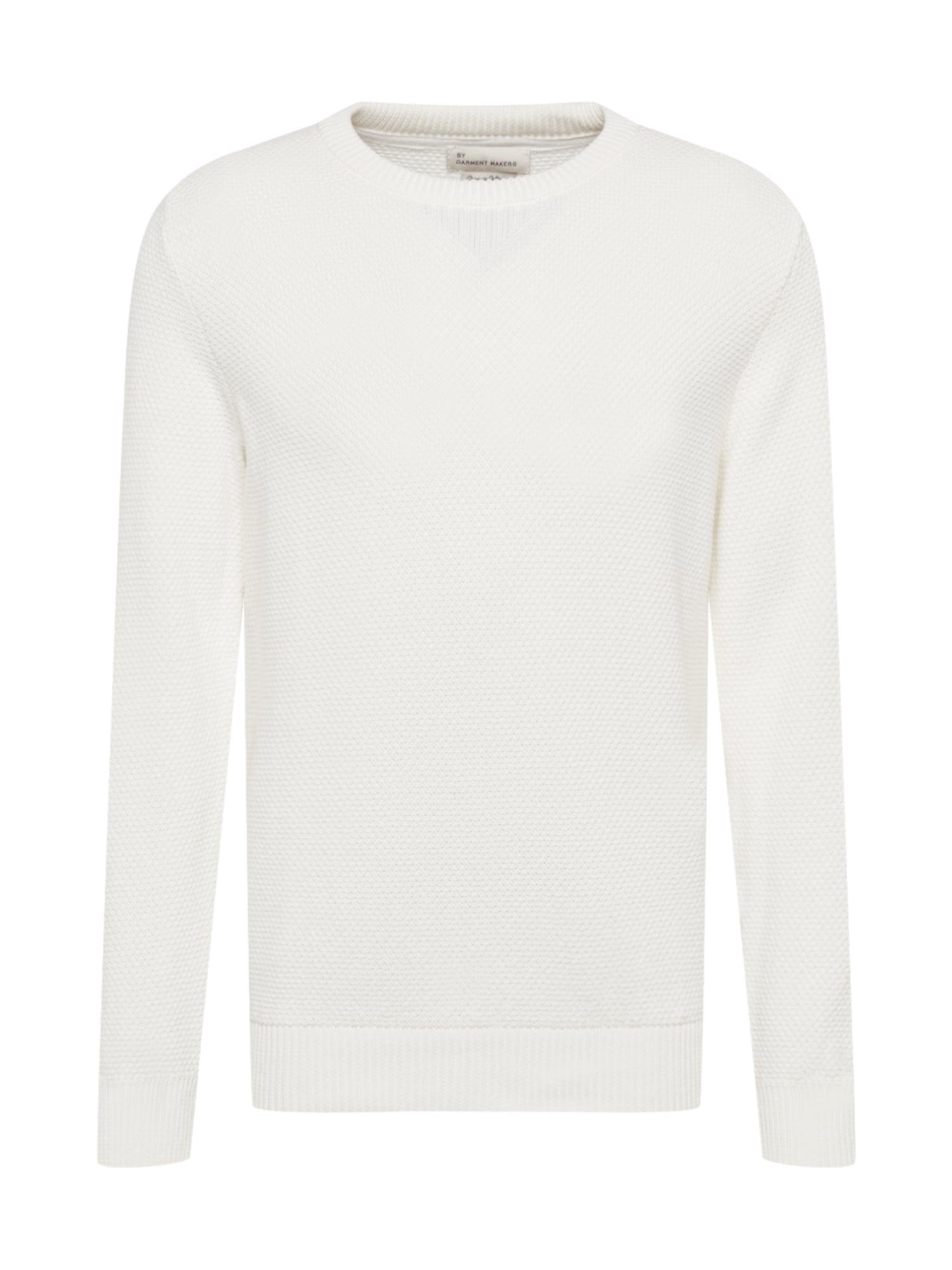 By Garment Makers Megztinis be užsegimo natūrali balta