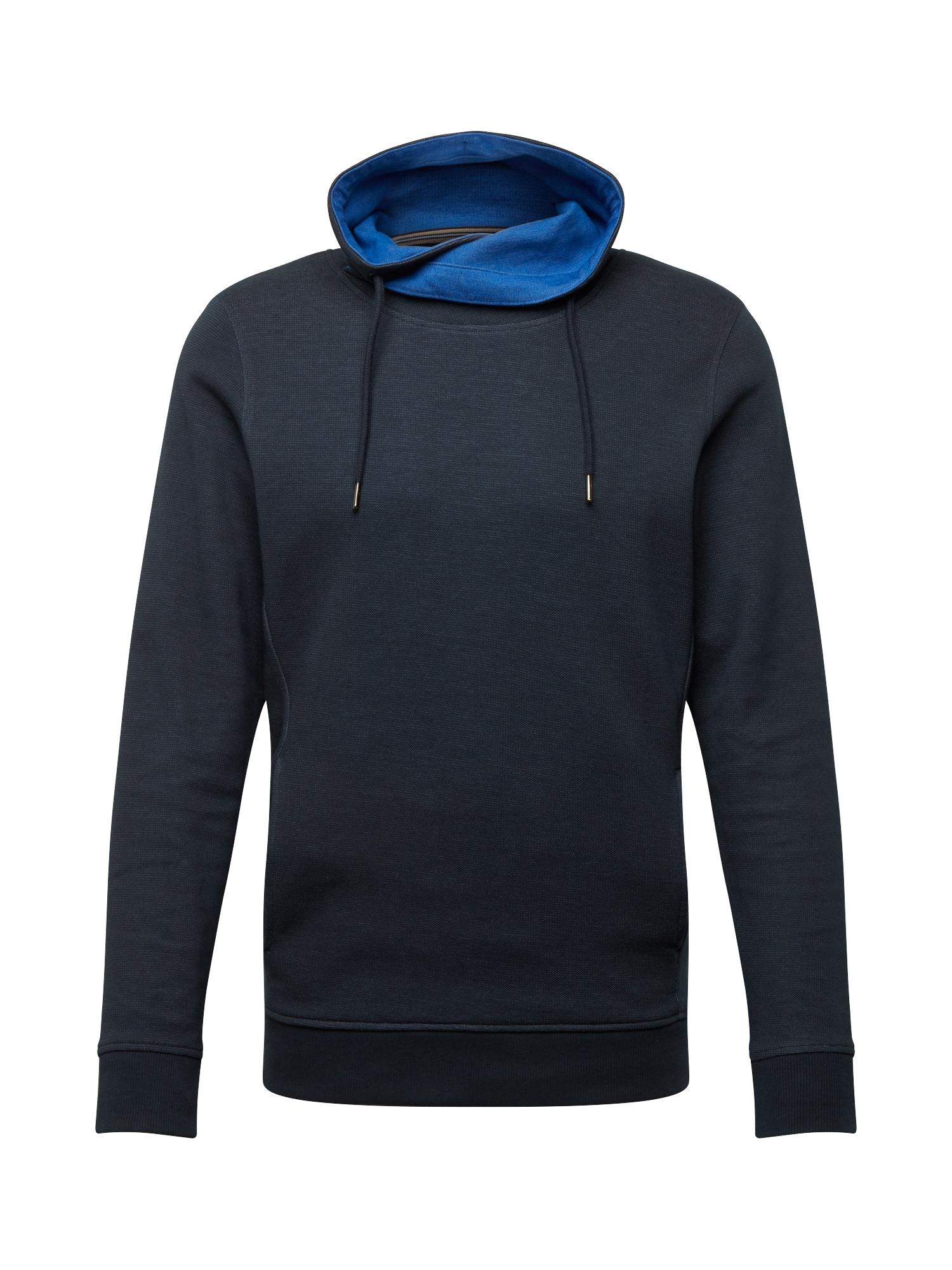 ESPRIT Mikina  tmavě modrá / modrá