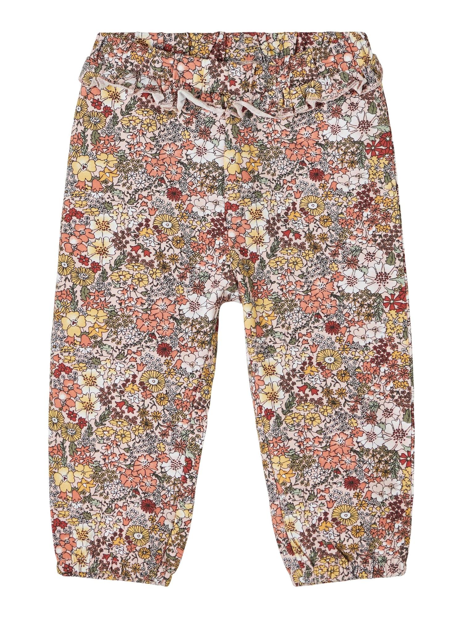NAME IT Kelnės 'Dahlia' rožių spalva / mišrios spalvos