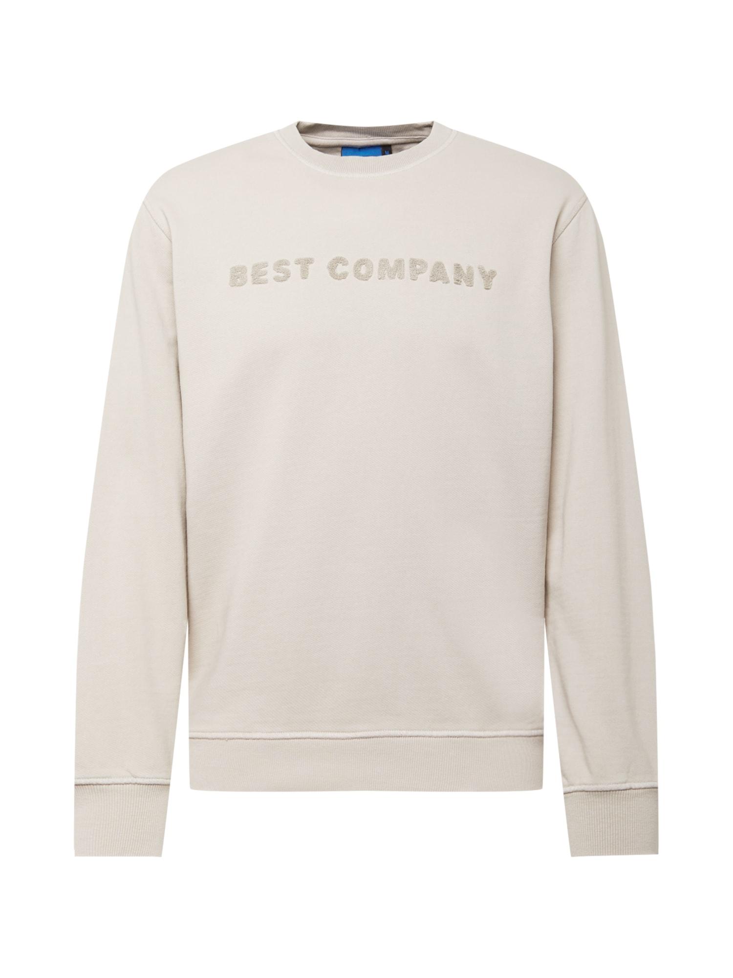 Best Company Megztinis be užsegimo šviesiai pilka