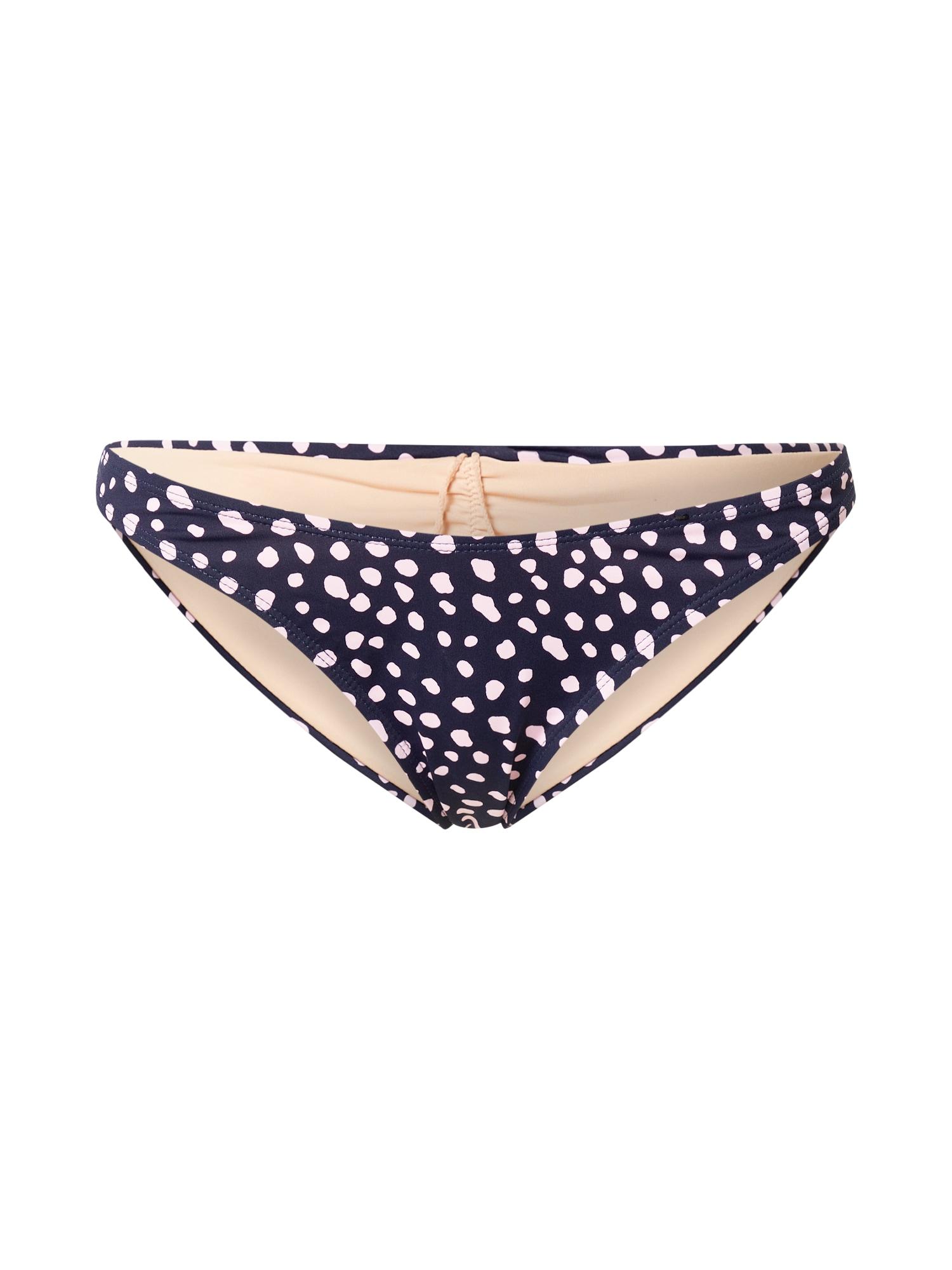 Cotton On Body Bikinio kelnaitės tamsiai mėlyna / pudros spalva