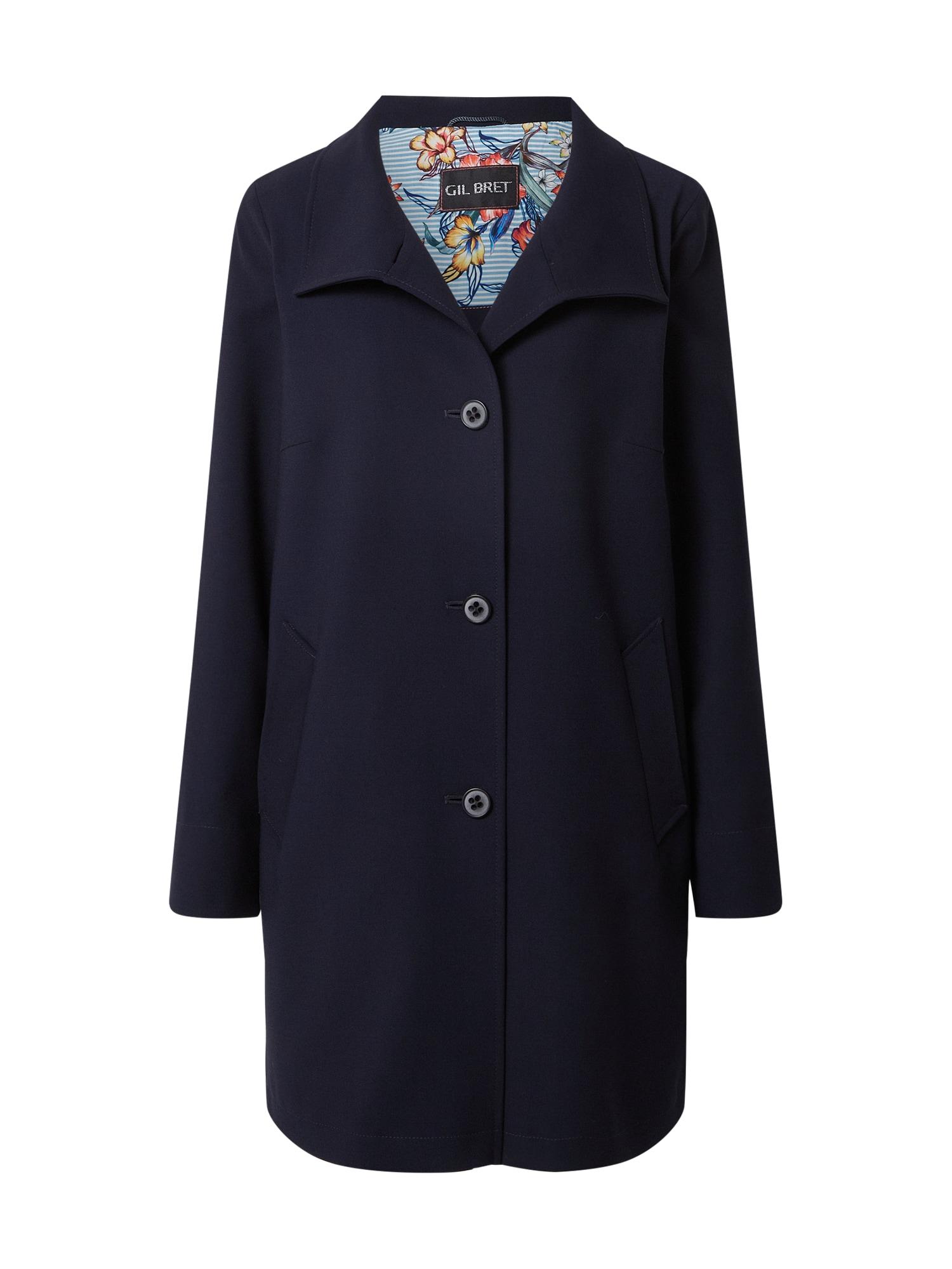 GIL BRET Demisezoninis paltas tamsiai mėlyna
