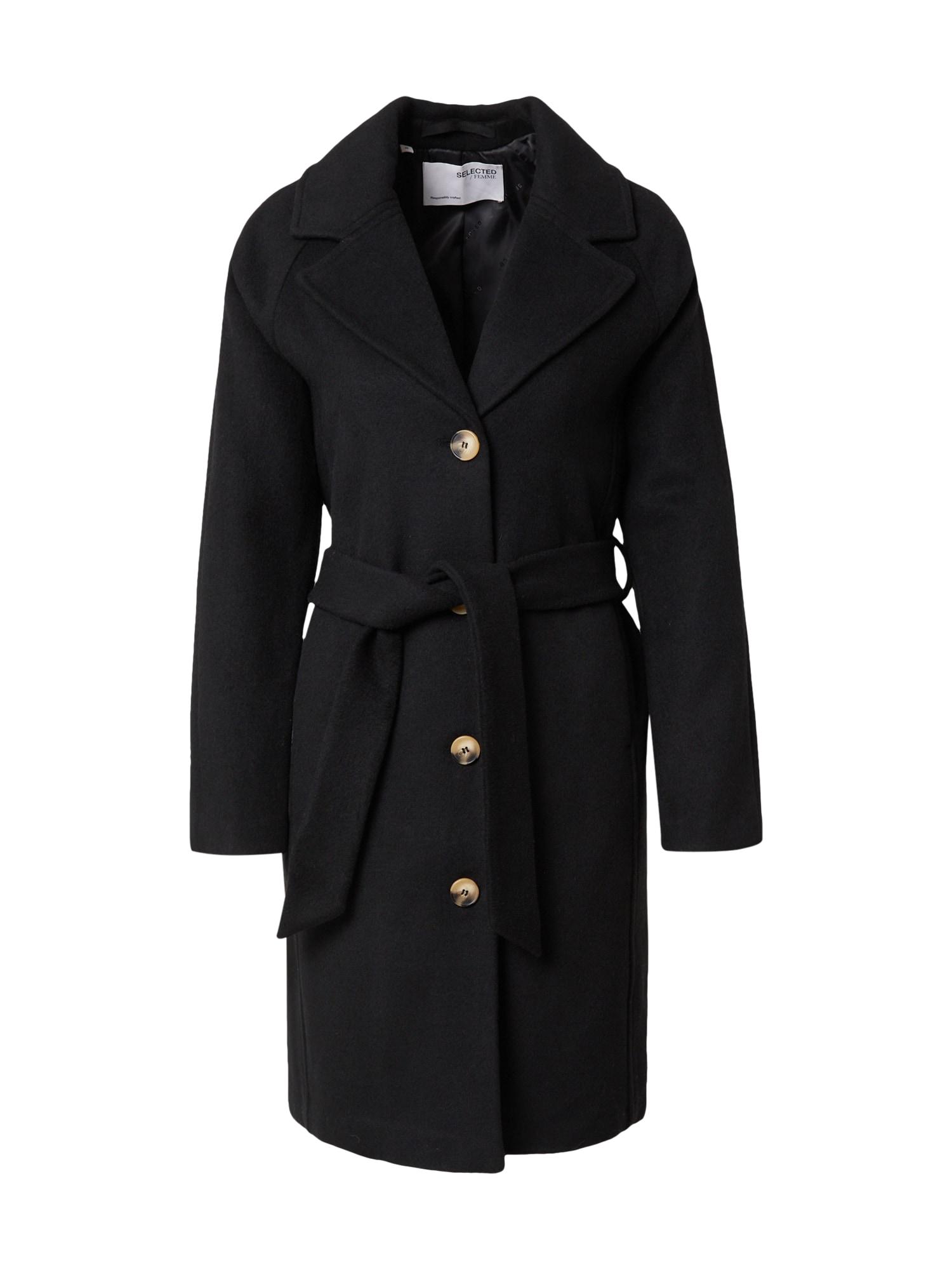SELECTED FEMME Přechodný kabát 'MILAN'  černá