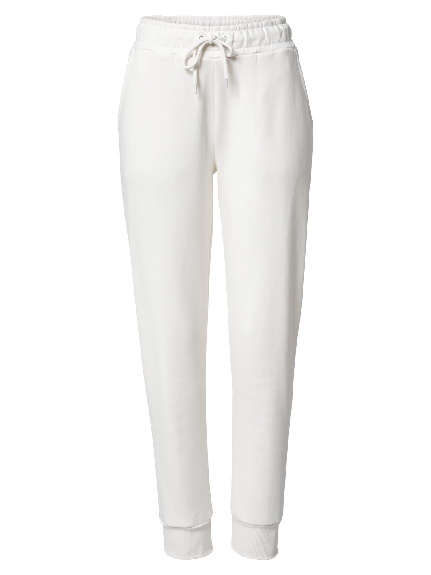 NA-KD Kalhoty  krémová