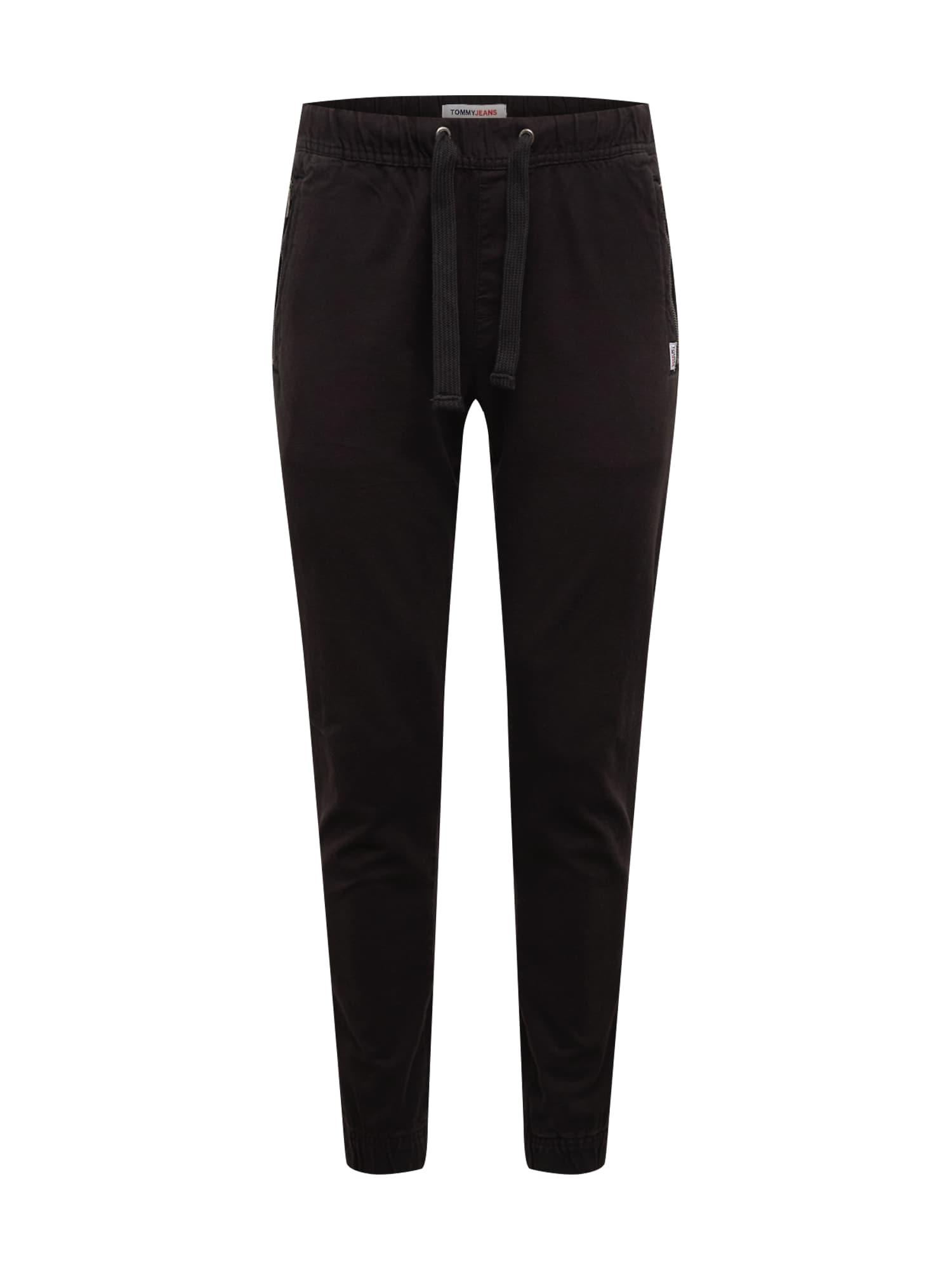 Tommy Jeans Kalhoty 'Scanton'  černá