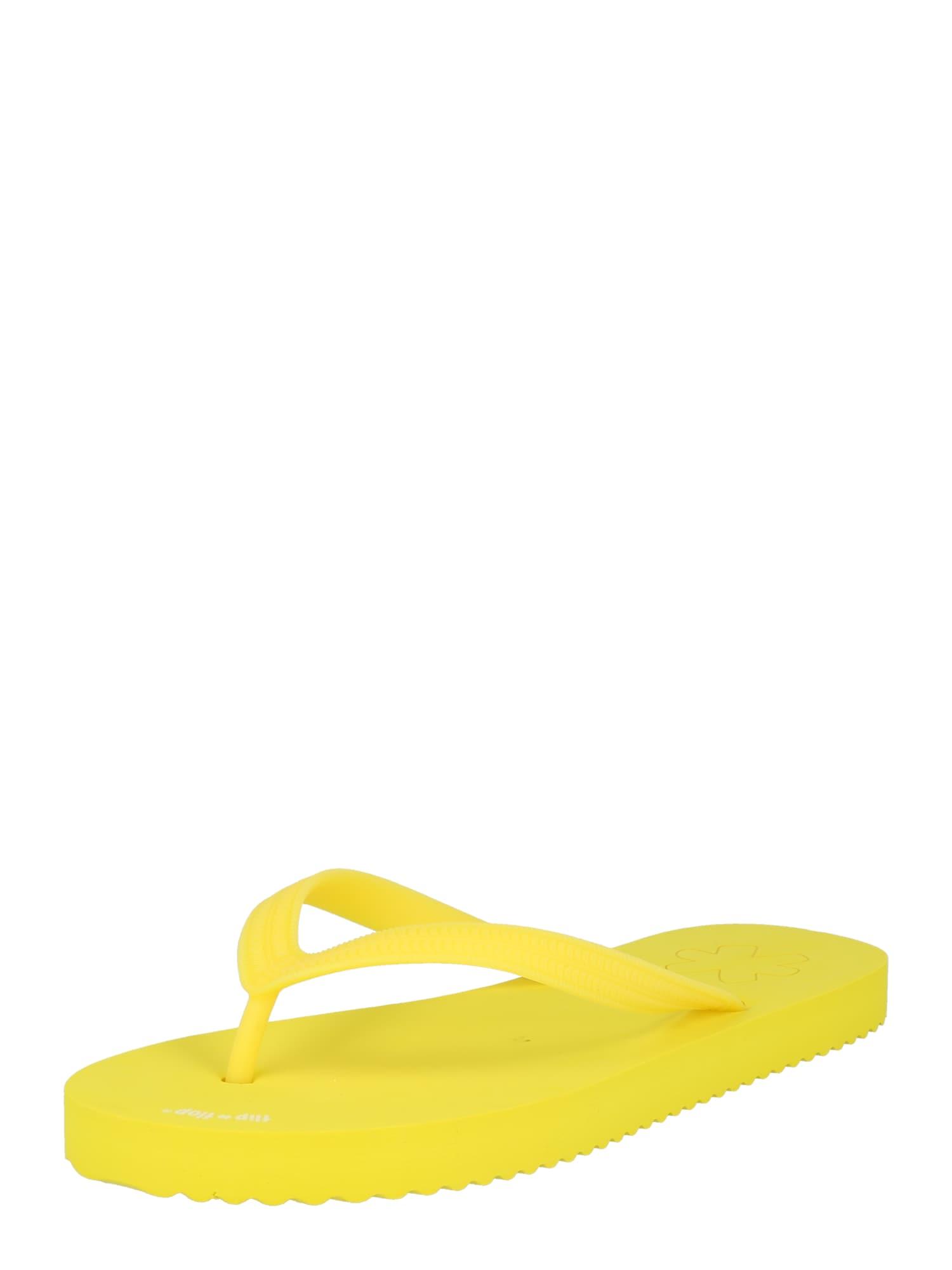 FLIP*FLOP Šlepetės per pirštą geltona
