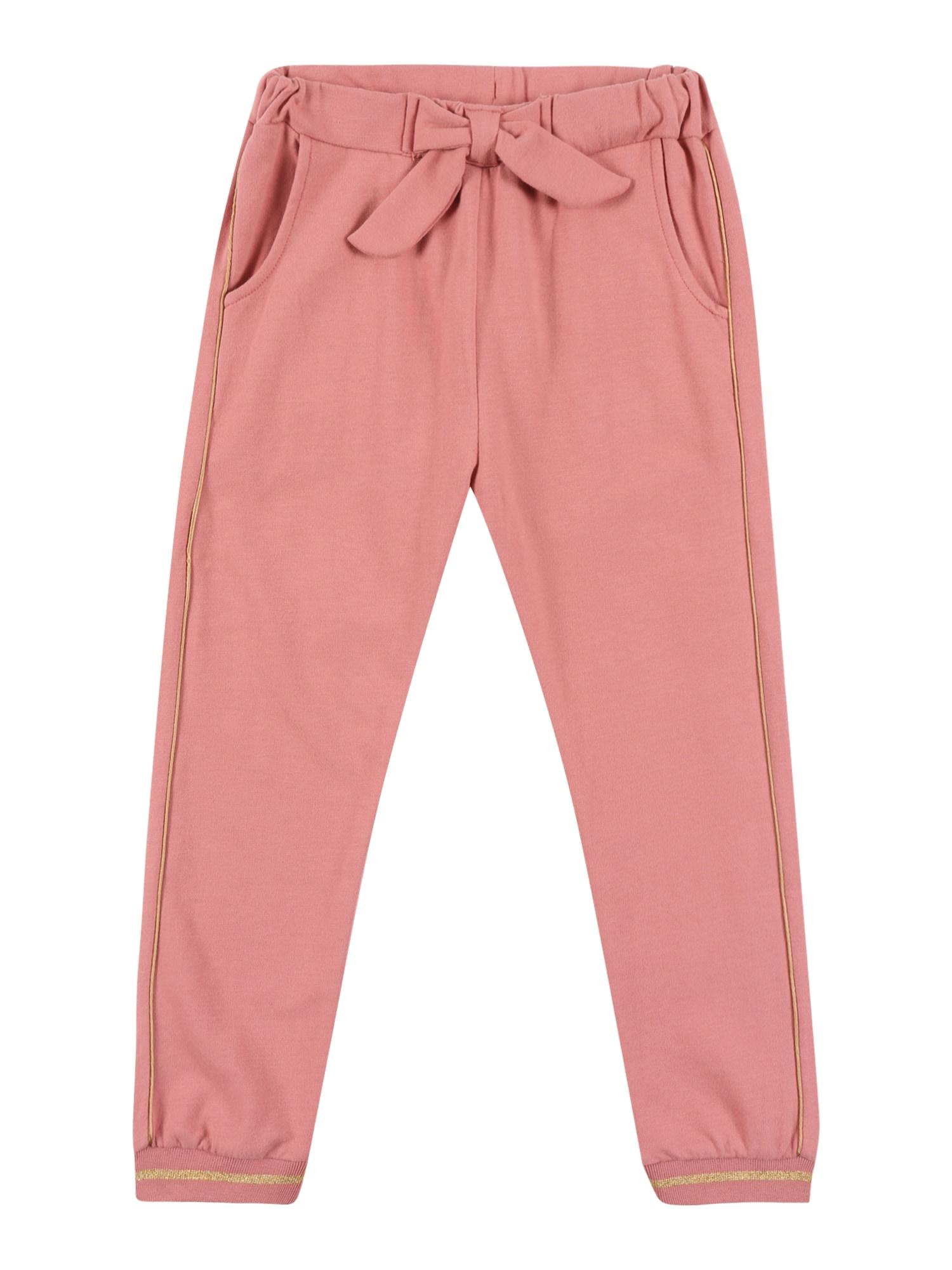 Hust & Claire Kelnės 'Thilde' ryškiai rožinė spalva / auksas