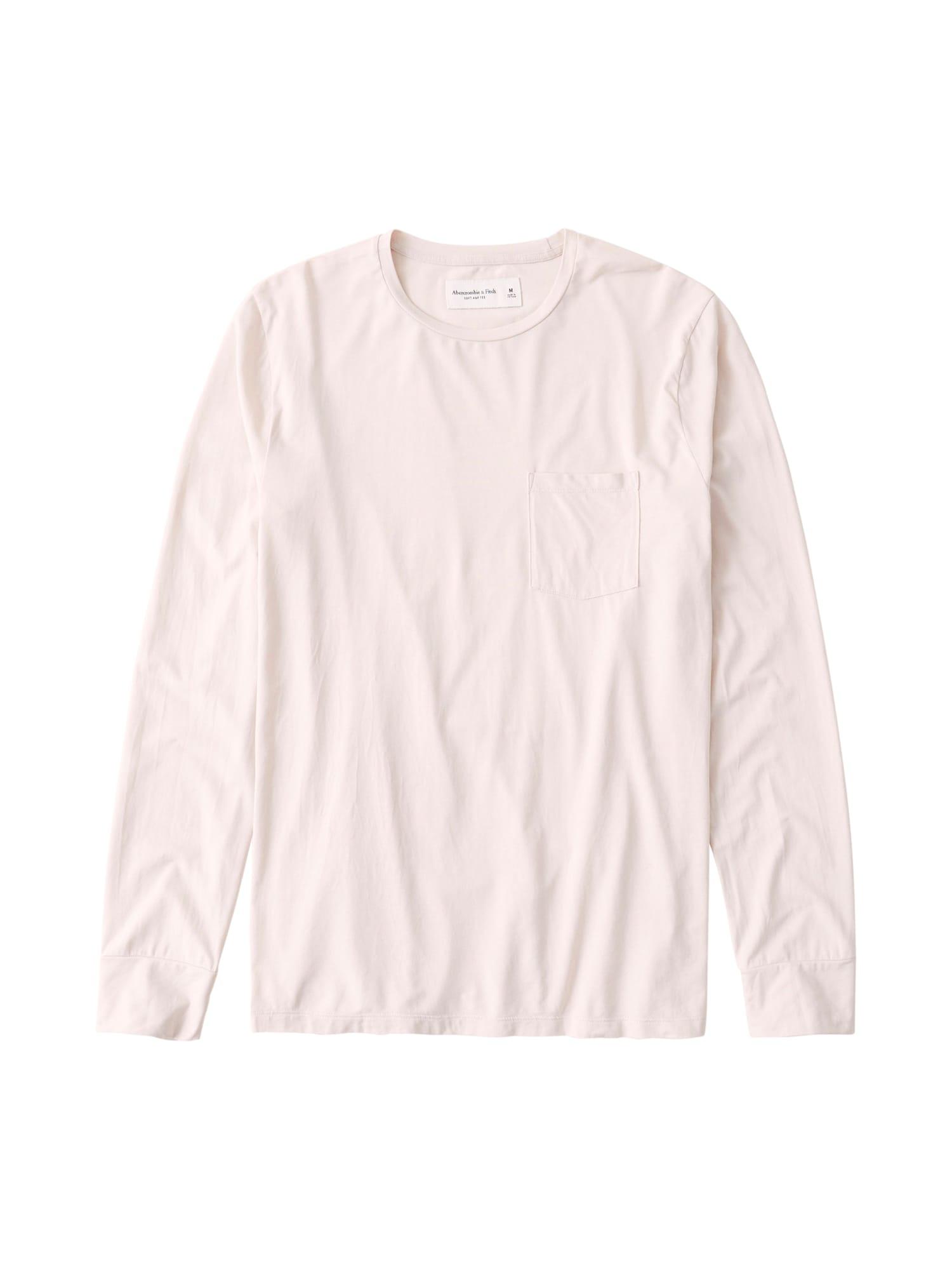 Abercrombie & Fitch Marškinėliai kremo