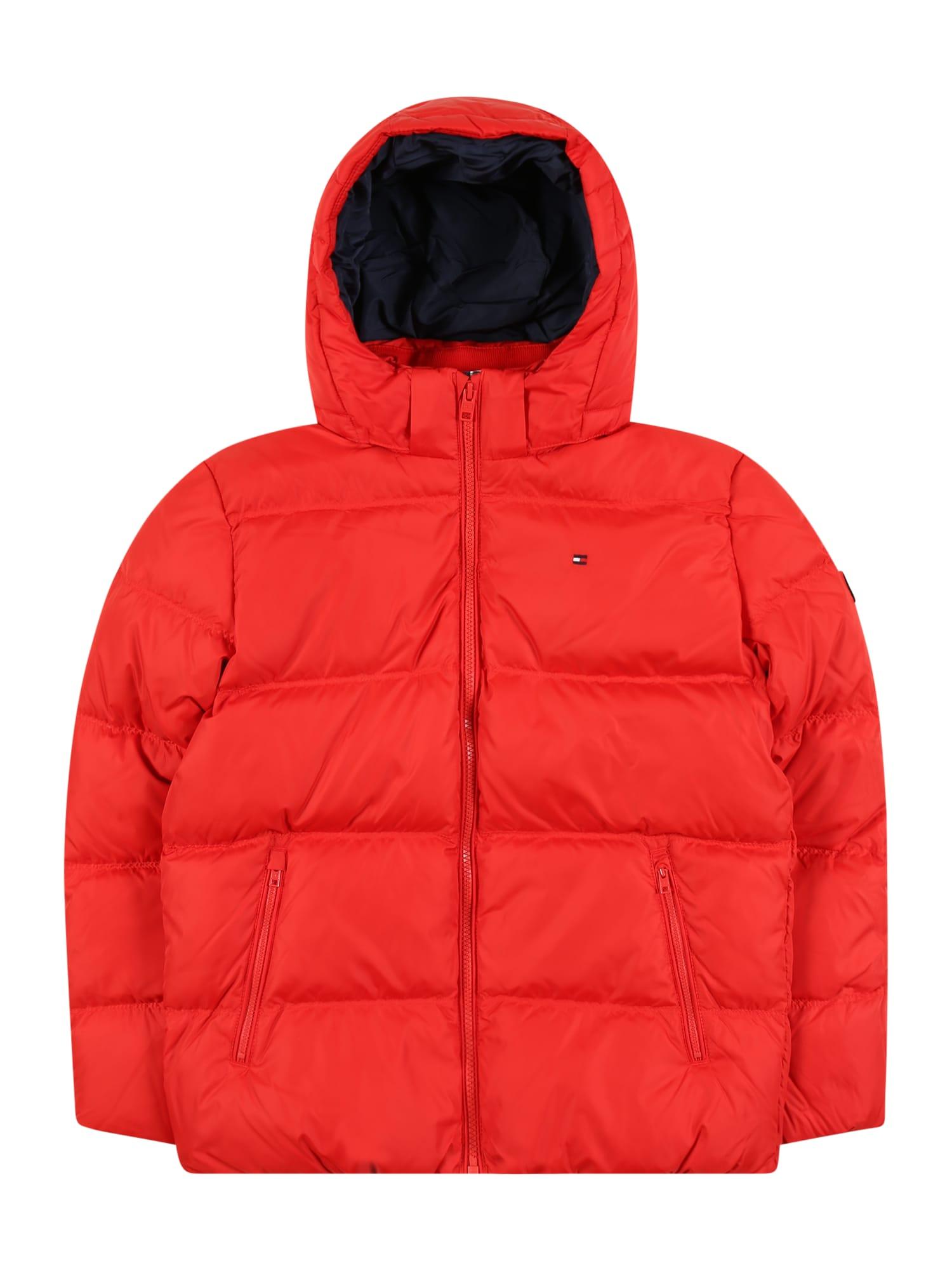 TOMMY HILFIGER Zimní bunda  červená