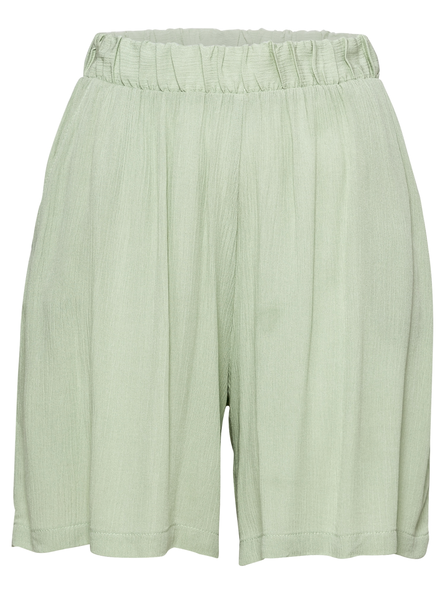 ICHI Kelnės pastelinė žalia
