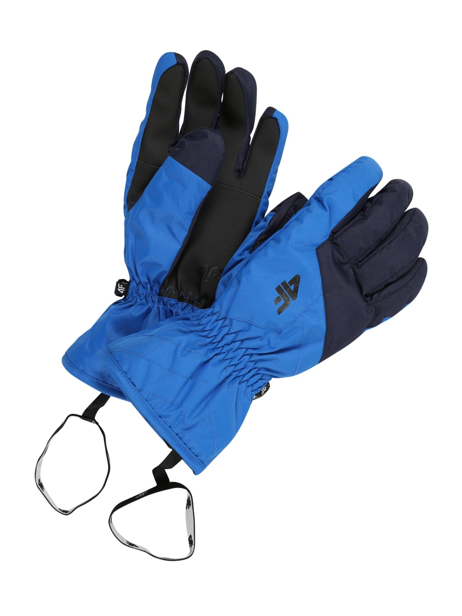 4F Sportinės pirštinės mėlyna / juoda