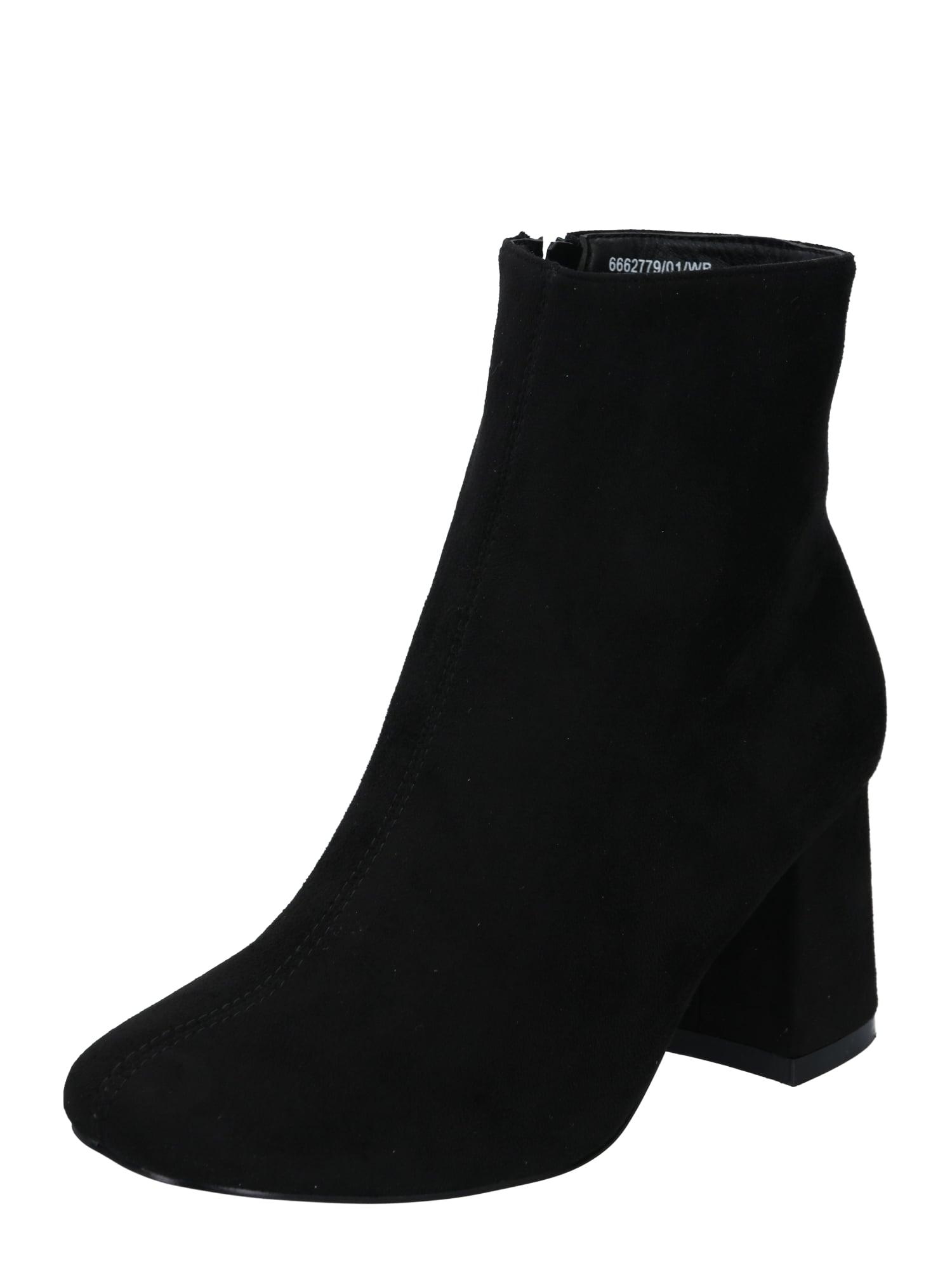 NEW LOOK Kulkšnis dengiantys batai juoda