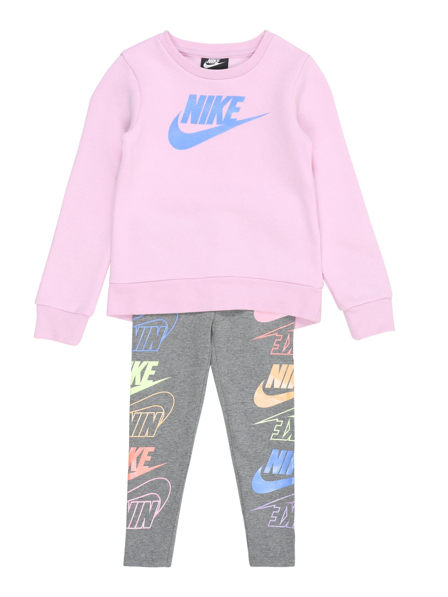 Nike Sportswear Rinkinys tamsiai pilka / rožinė / mišrios spalvos