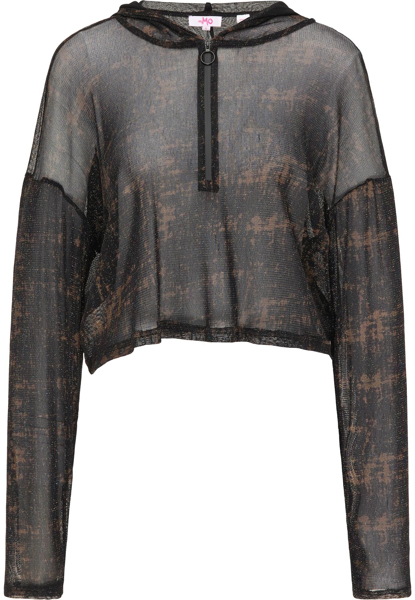 MYMO Megztinis ruda / juoda