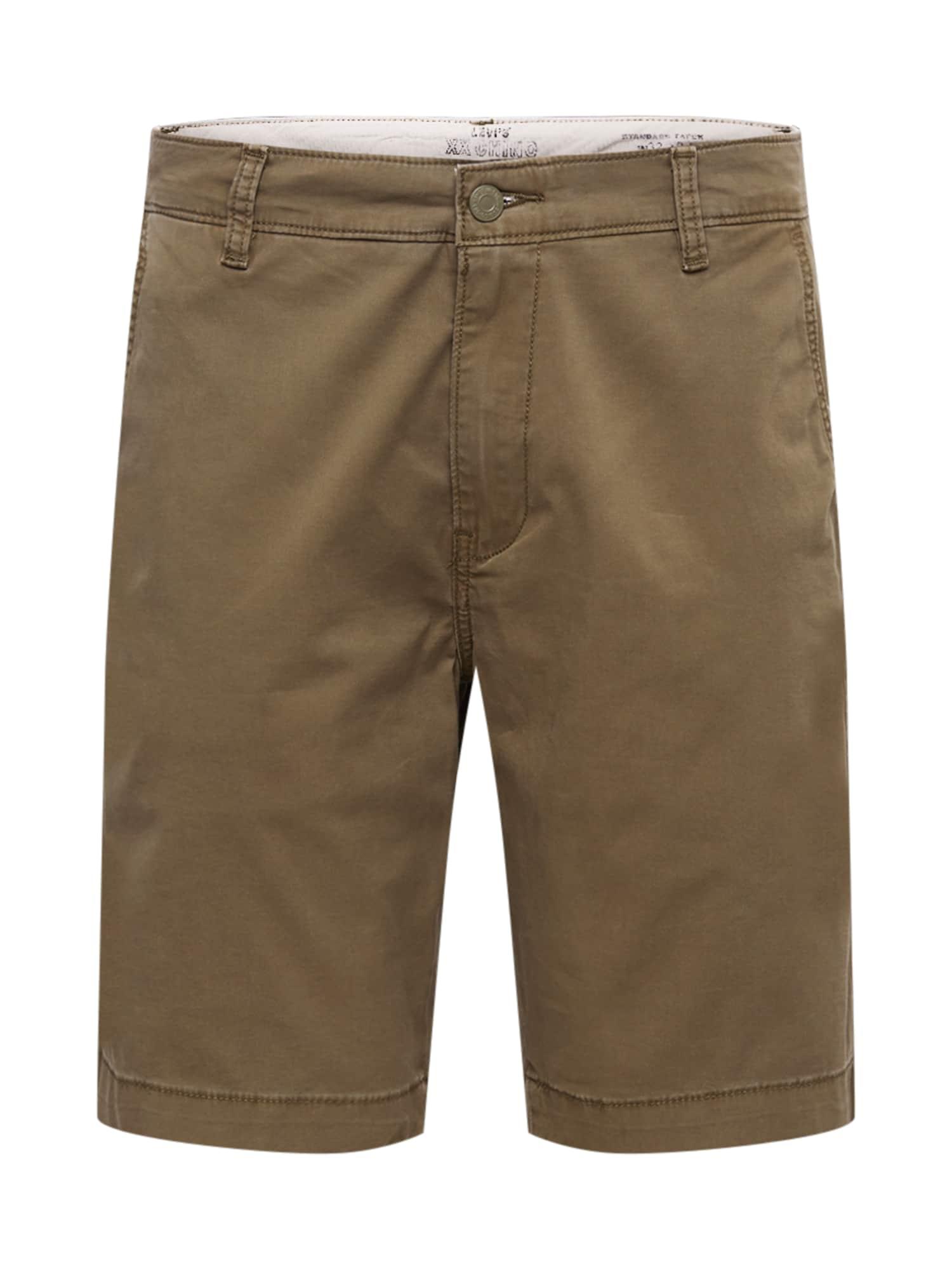 """LEVI'S """"Chino"""" stiliaus kelnės ruda"""