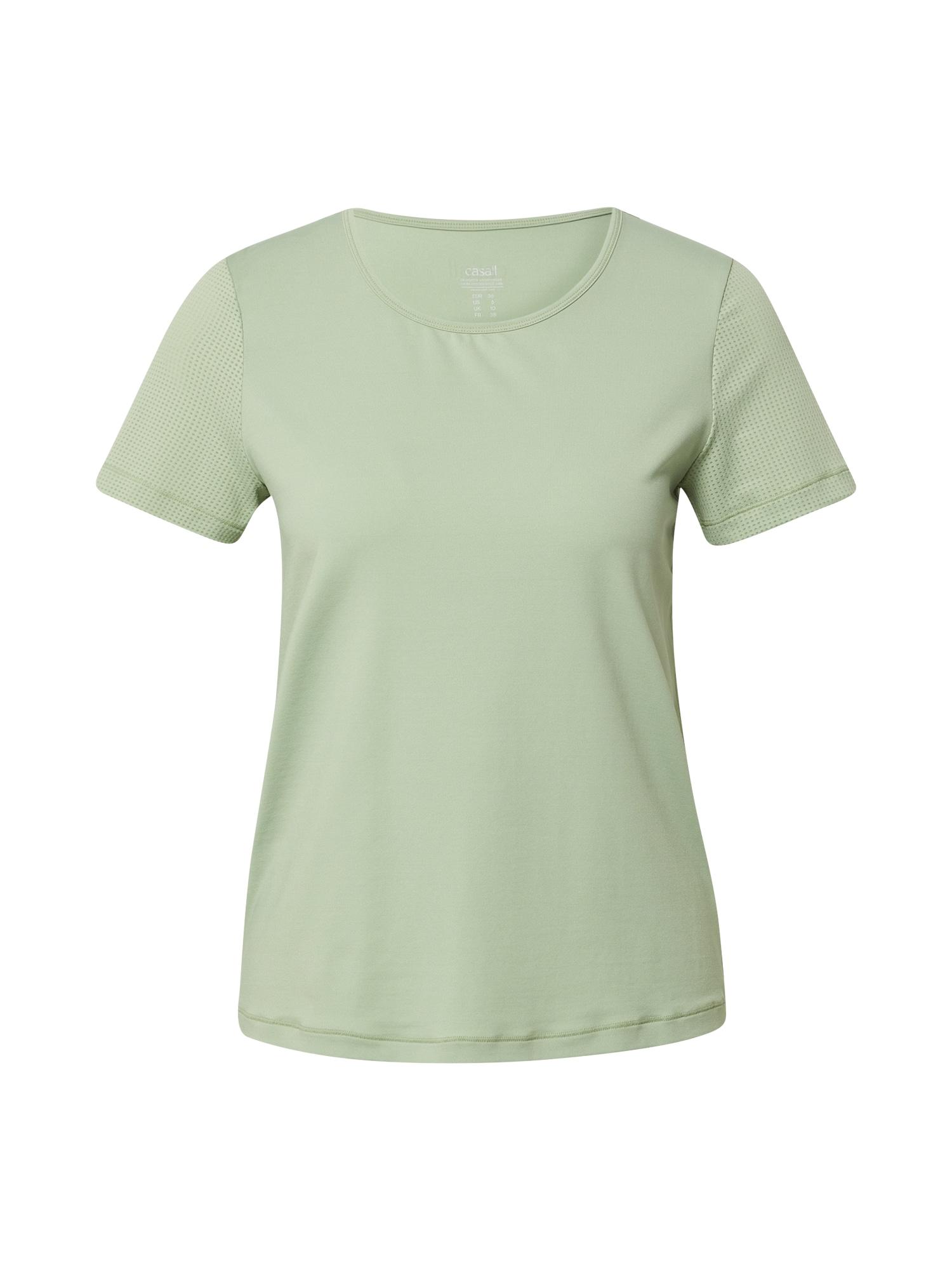 Casall Sportiniai marškinėliai pastelinė žalia