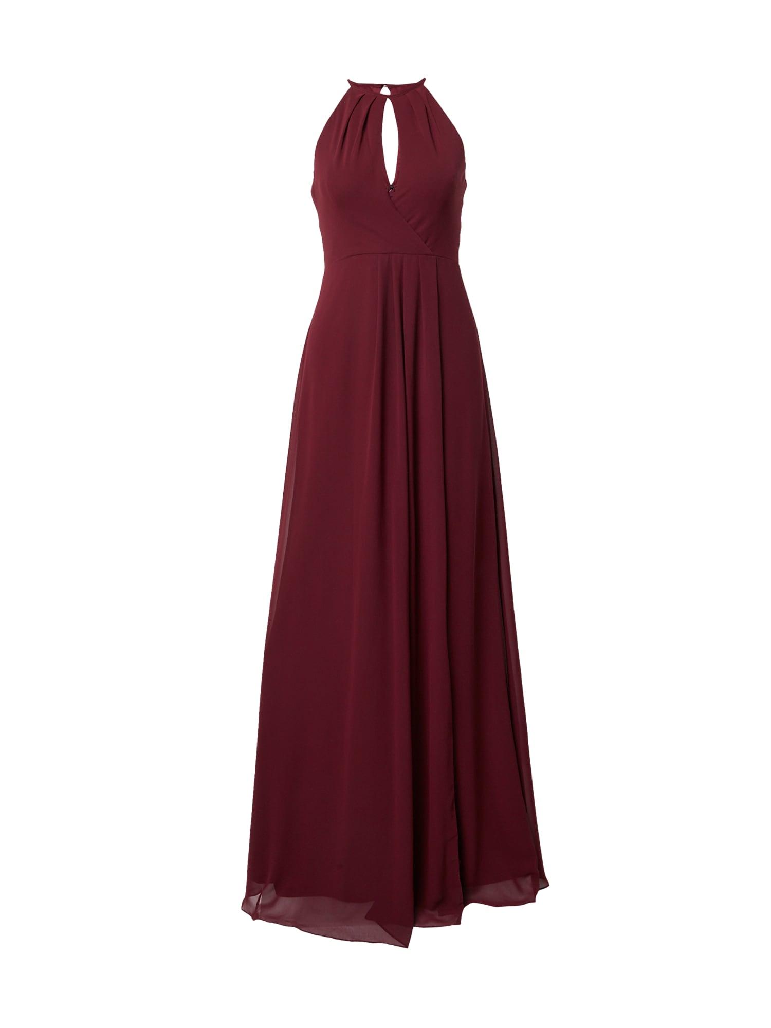 STAR NIGHT Vakarinė suknelė rubinų raudona
