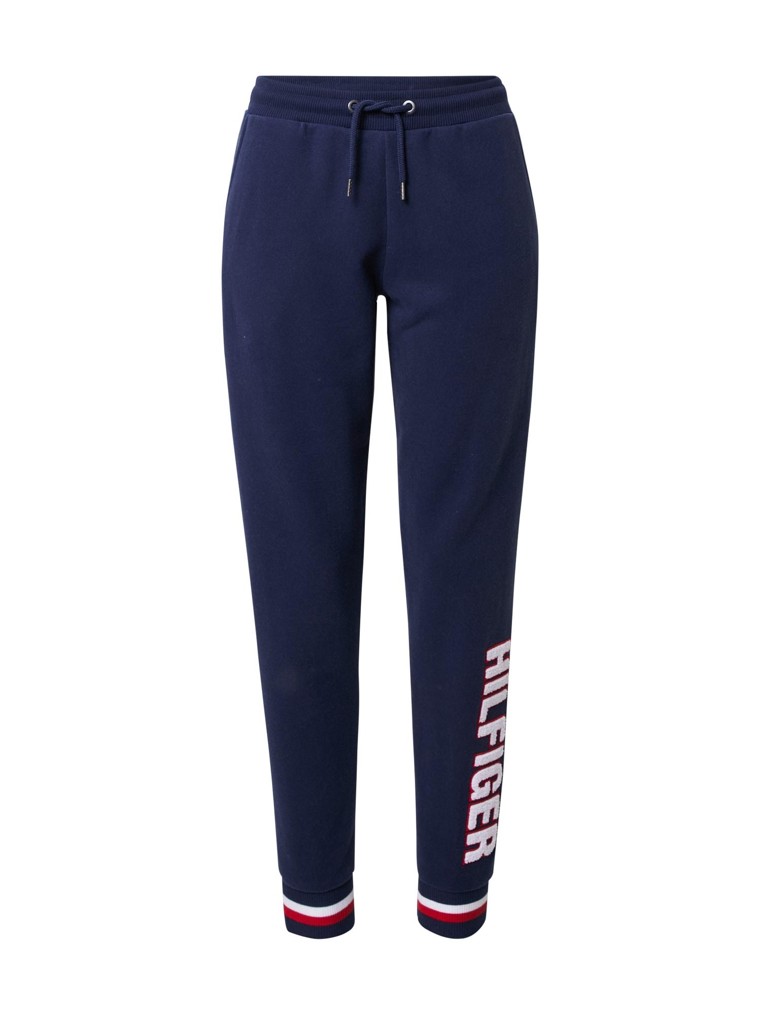 Tommy Hilfiger Underwear Kelnės tamsiai mėlyna / melionų spalva / balta