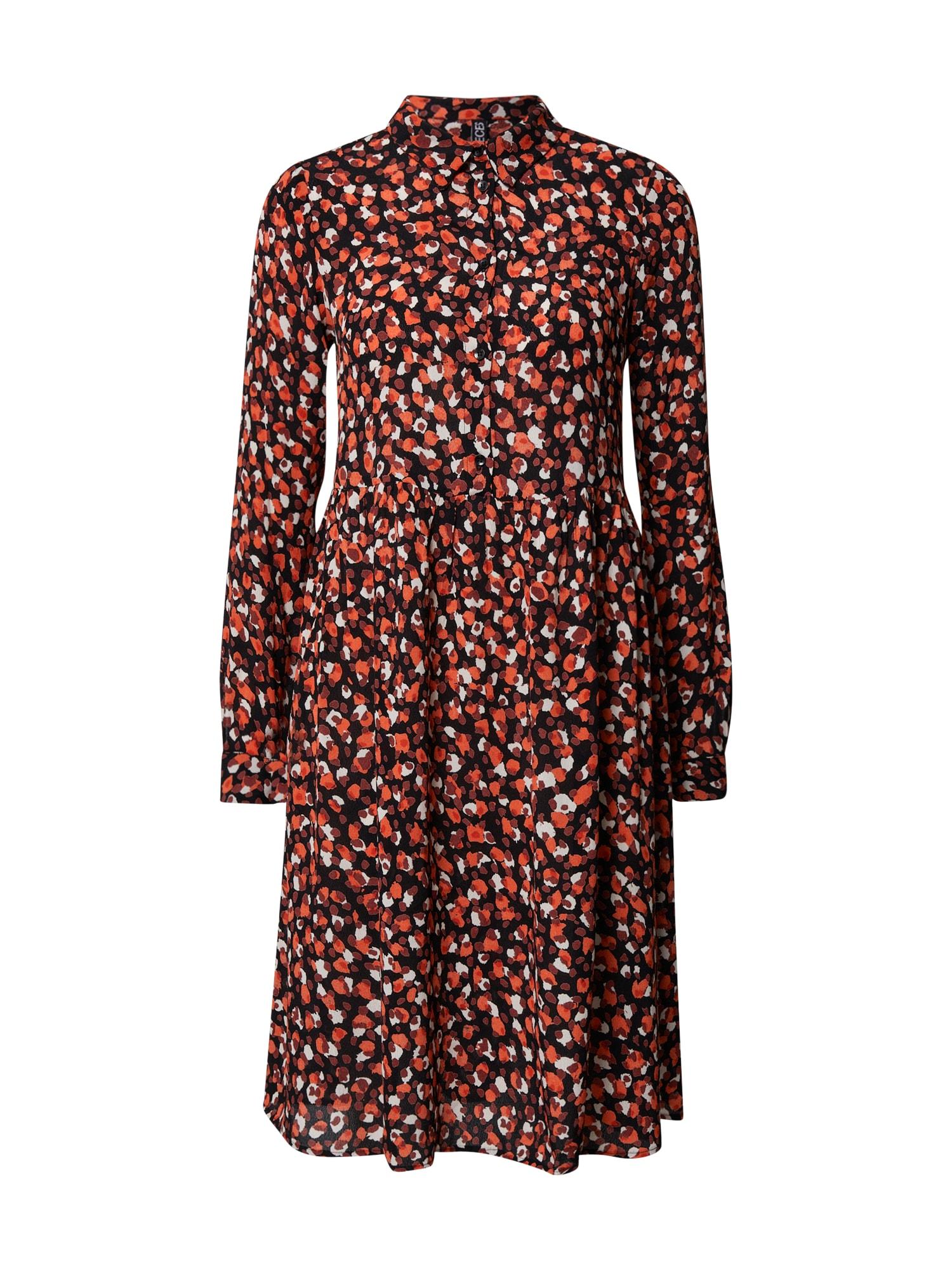 PIECES Palaidinės tipo suknelė mišrios spalvos