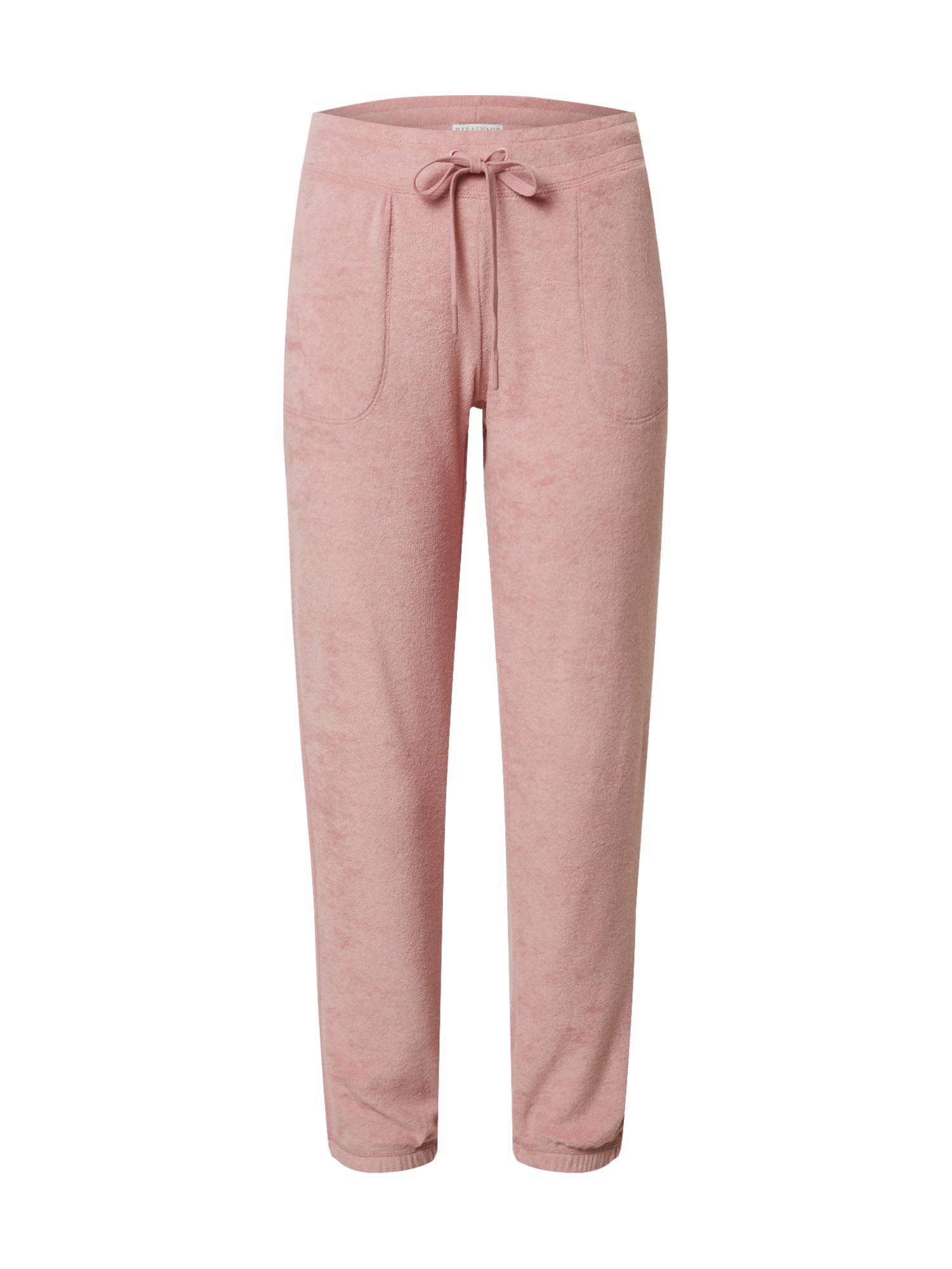 PJ Salvage Pižaminės kelnės rožinė
