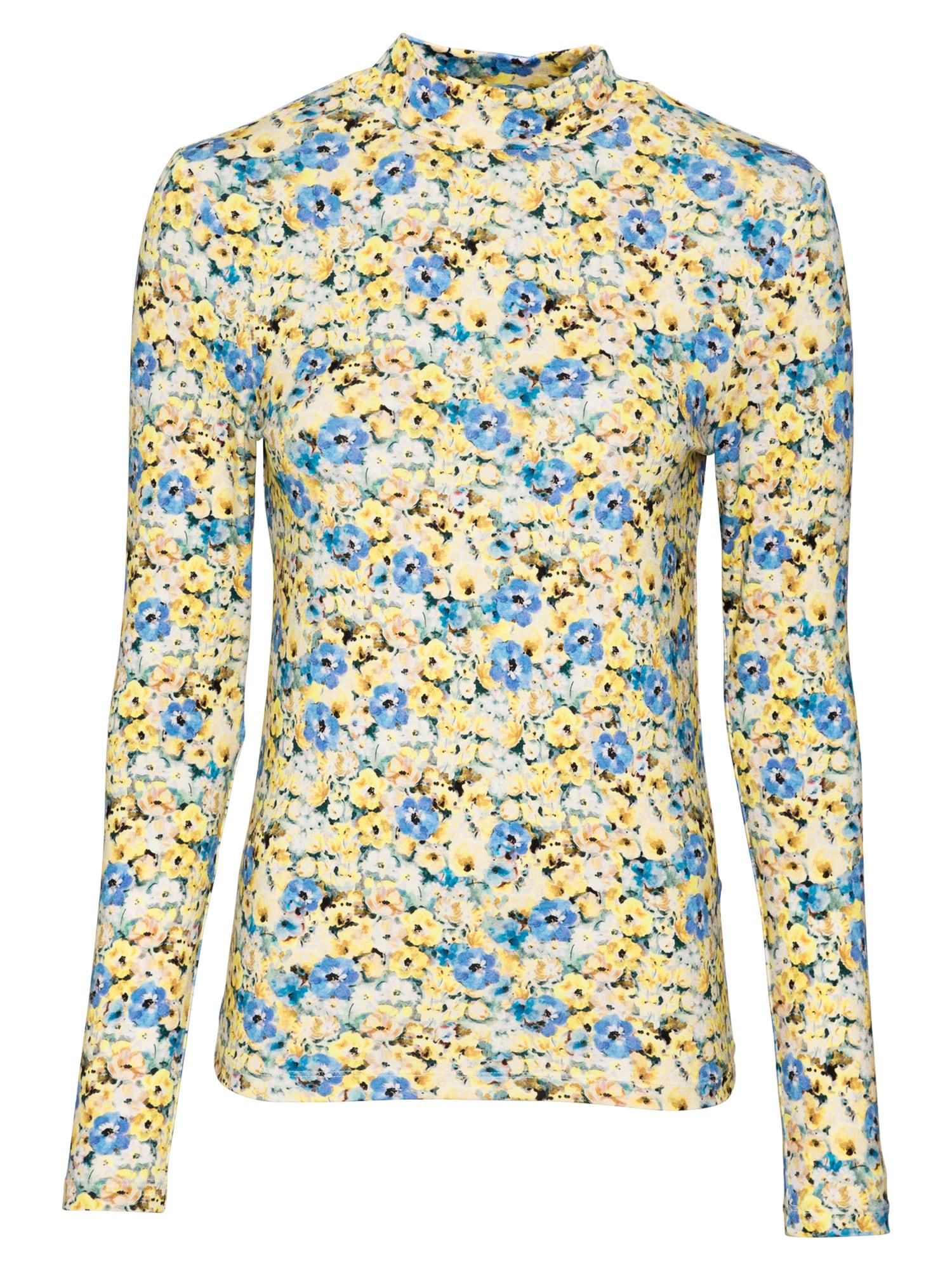 Rich & Royal Marškinėliai geltona / balta / mėlyna