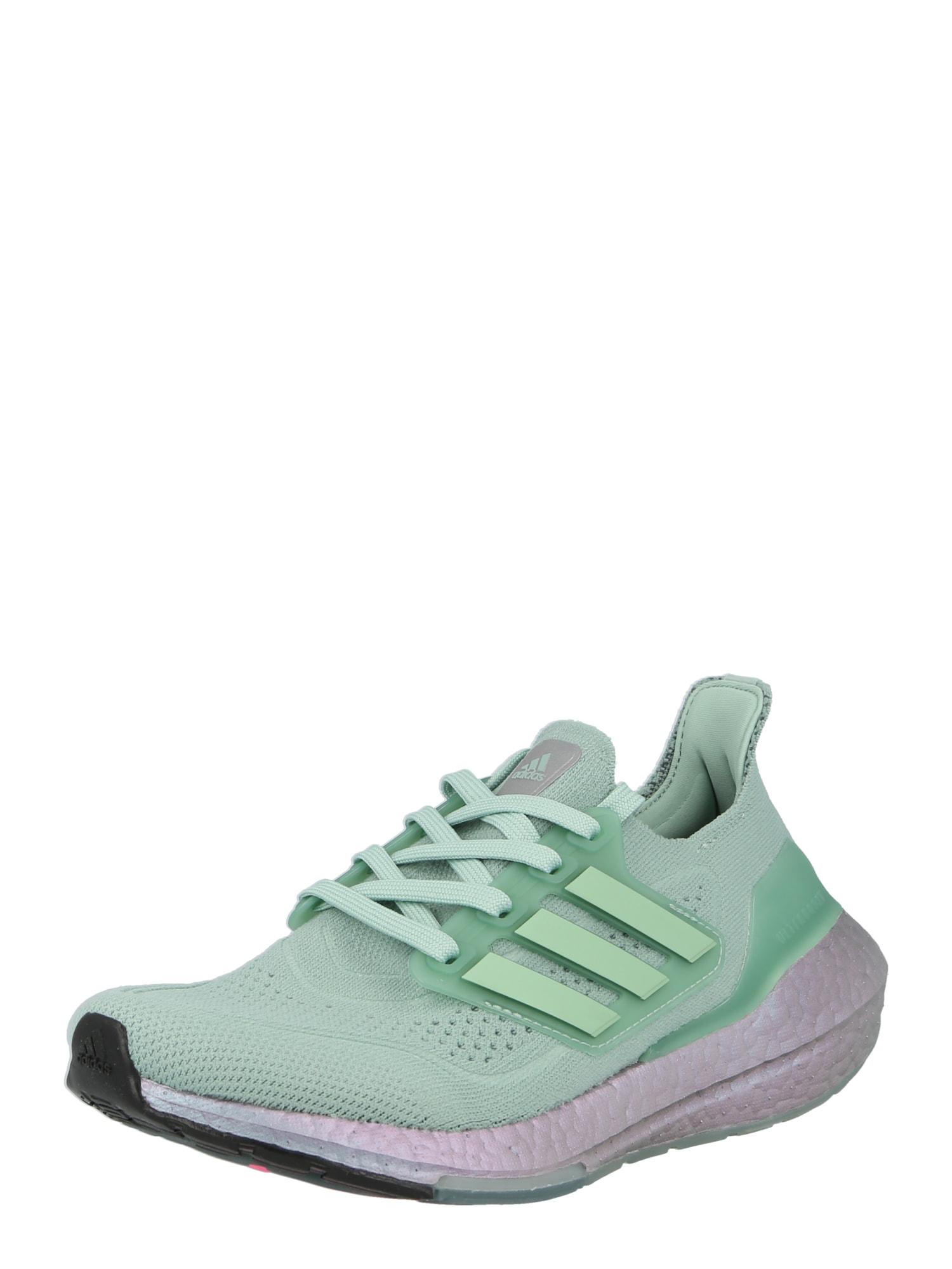 ADIDAS PERFORMANCE Běžecká obuv 'Ultraboost 21'  zelená