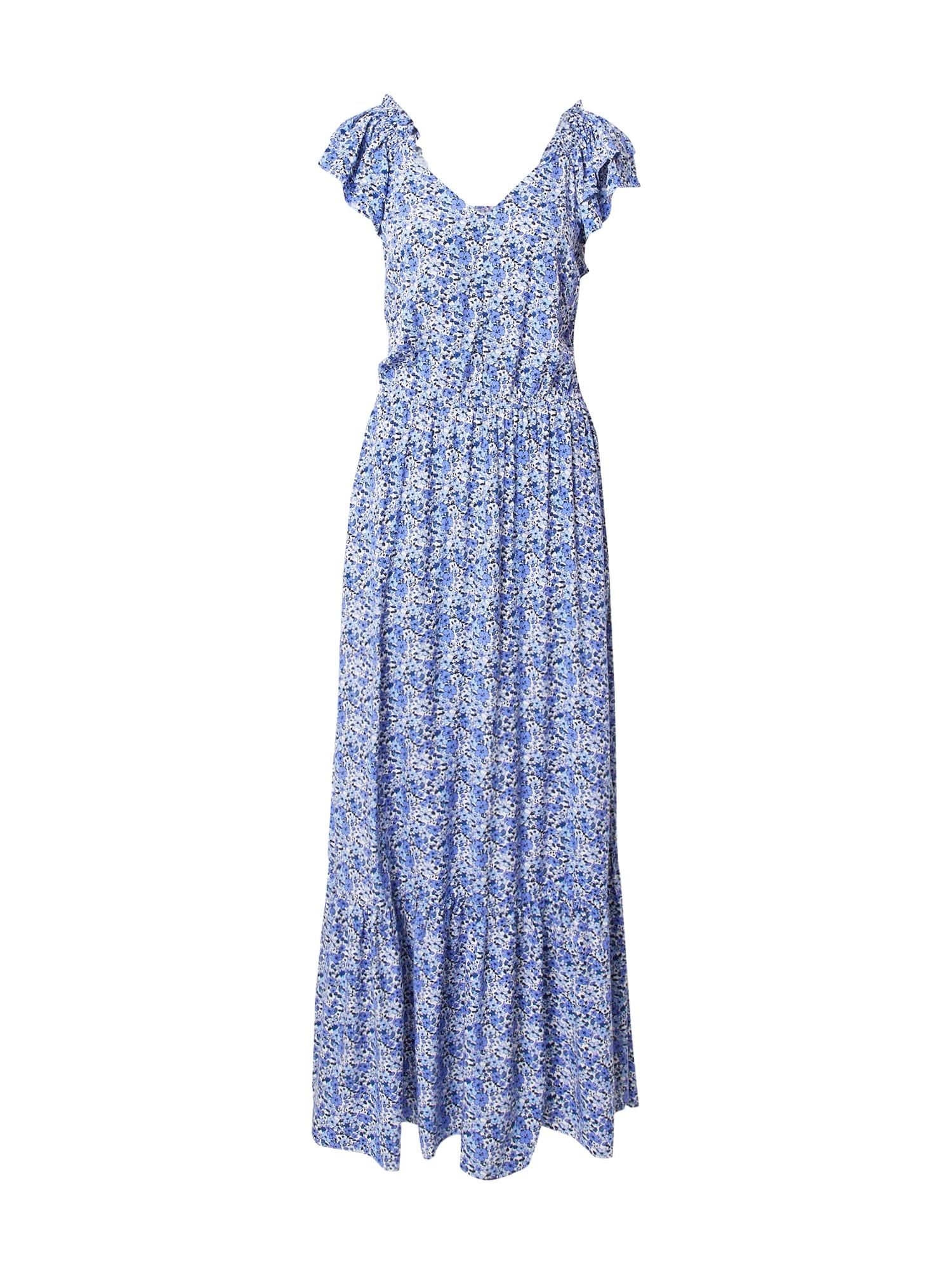 Claire Vasarinė suknelė mėlyna / šviesiai mėlyna / balta
