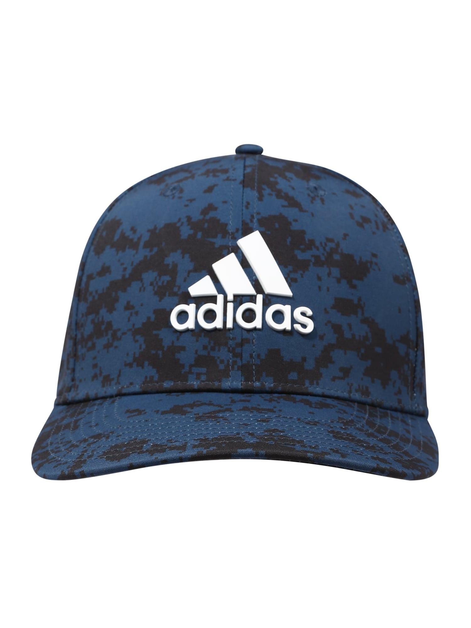 adidas Golf Sportinė kepurė mėlyna / juoda / balta