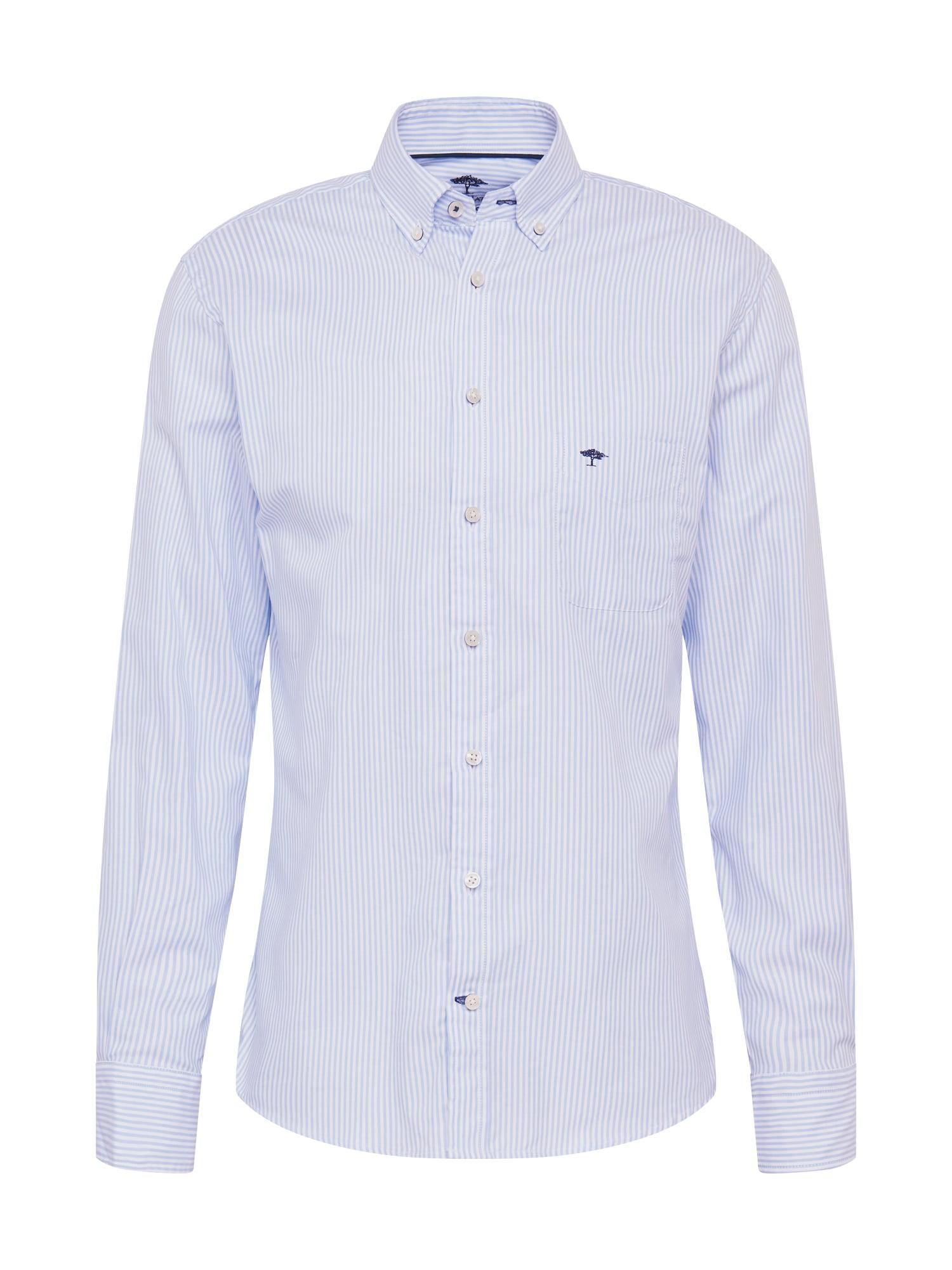 FYNCH-HATTON Marškiniai balta / šviesiai mėlyna