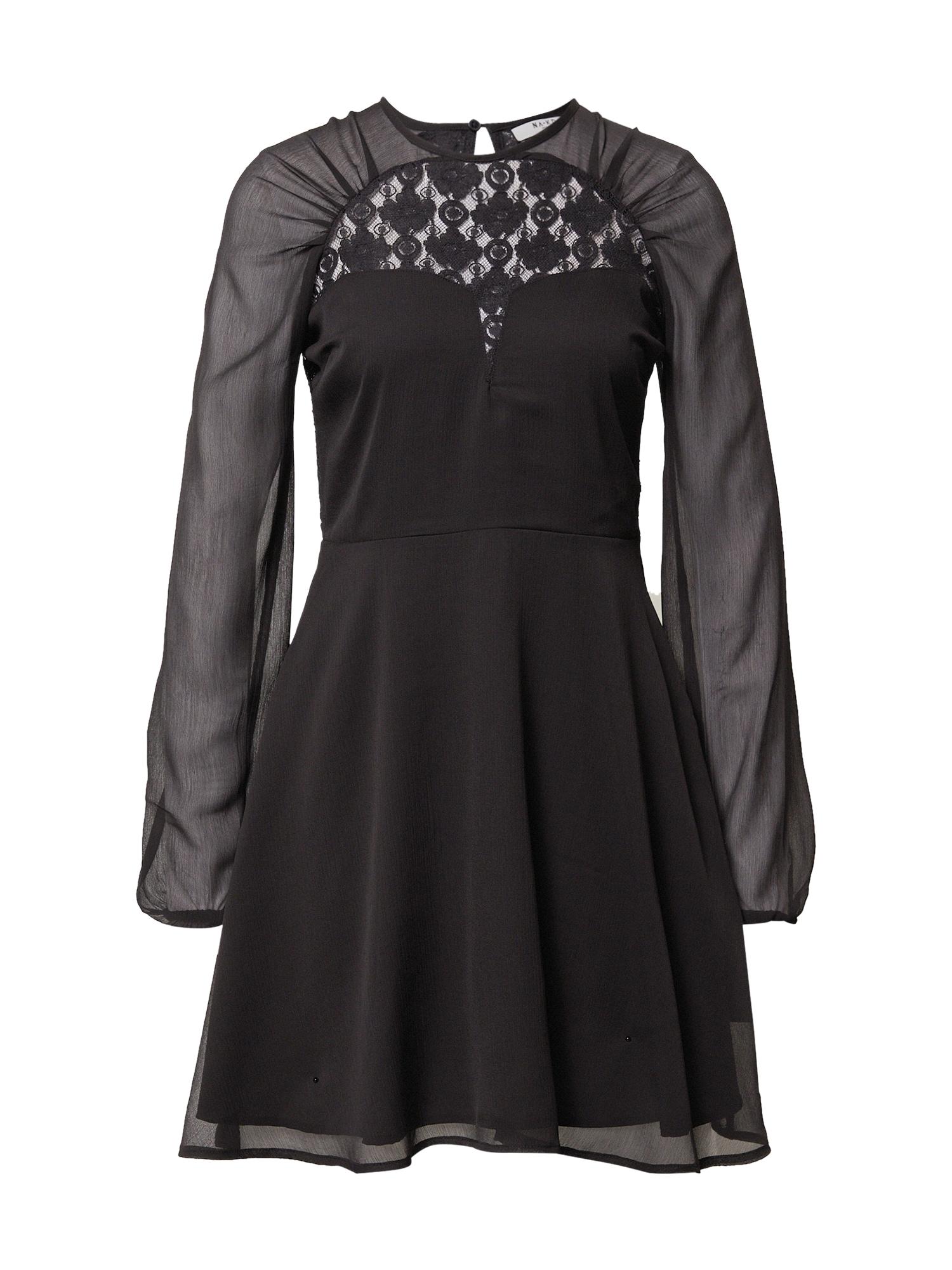 NA-KD Kokteilinė suknelė juoda
