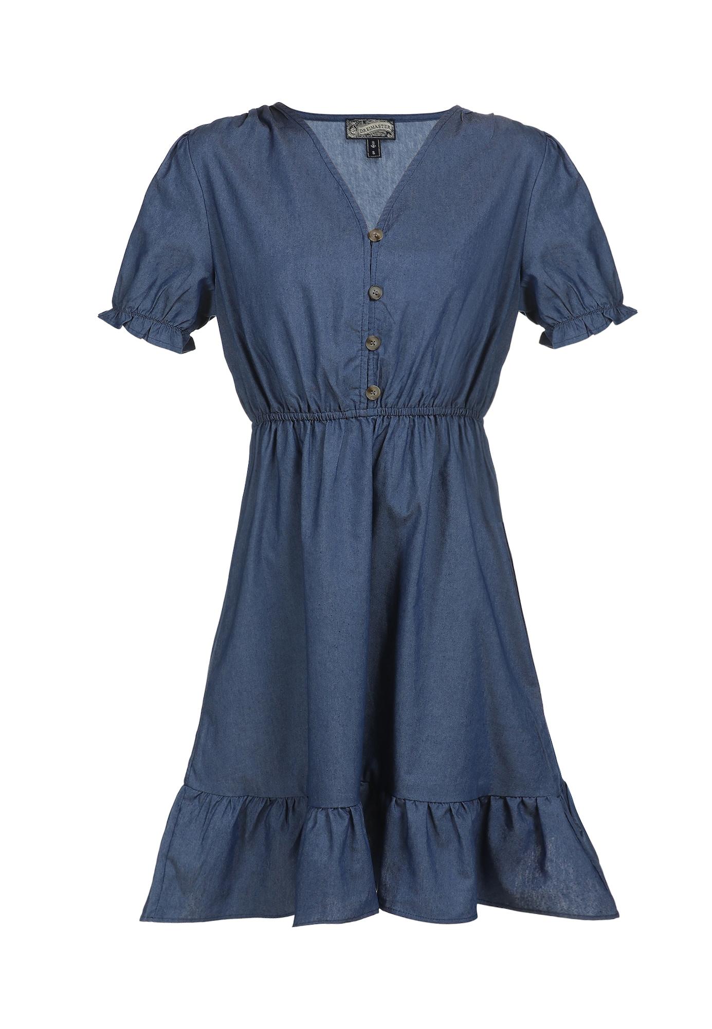 DreiMaster Vintage Vasarinė suknelė nakties mėlyna