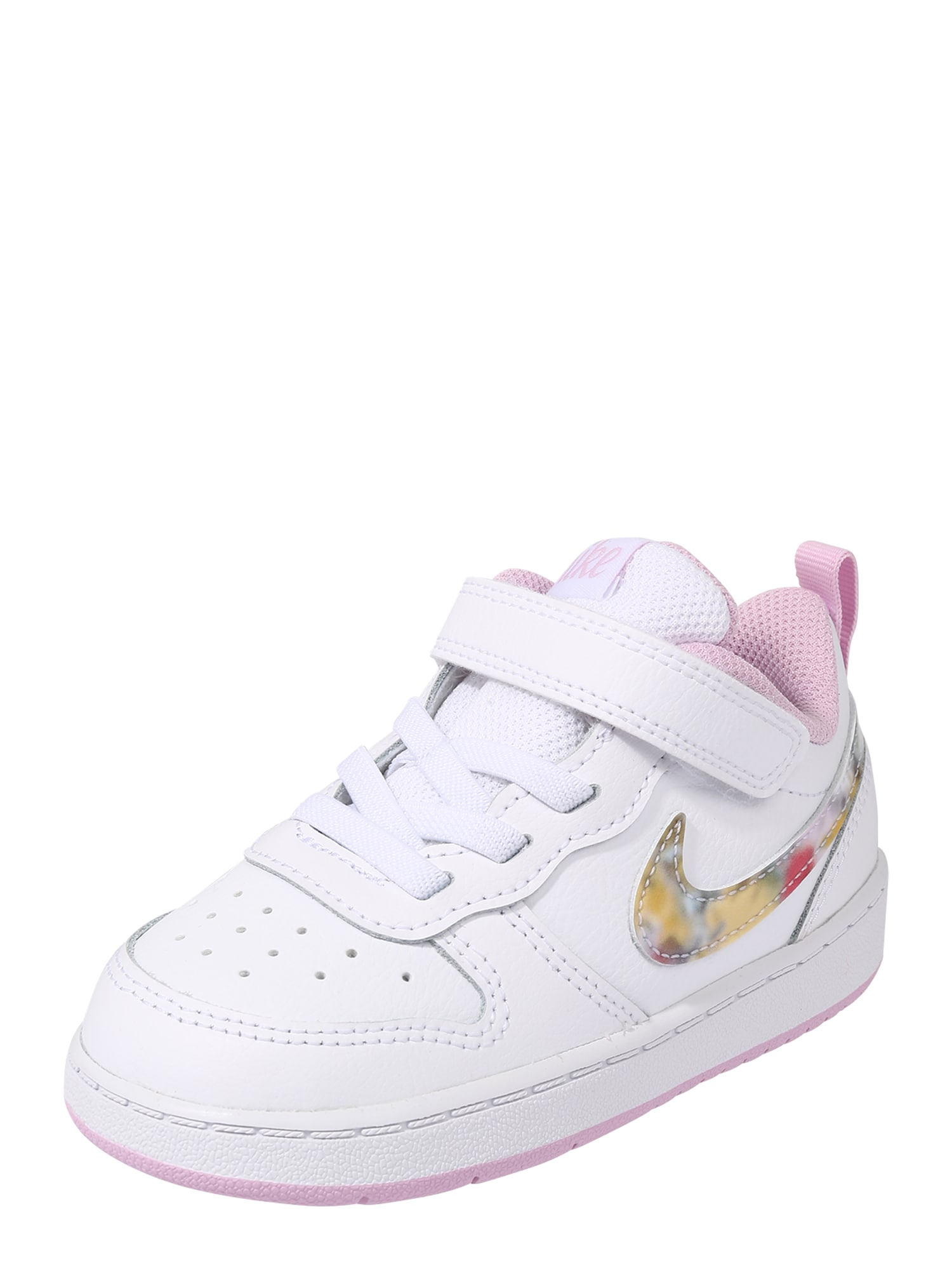 Nike Sportswear Tenisky 'Court Borough'  růžová / bílá