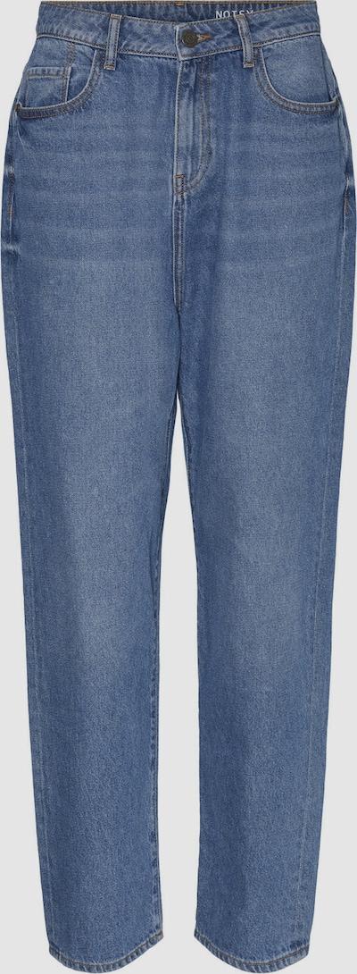 Noisy May Brooke Slim Fit Dad Jeans mit geradem Bein