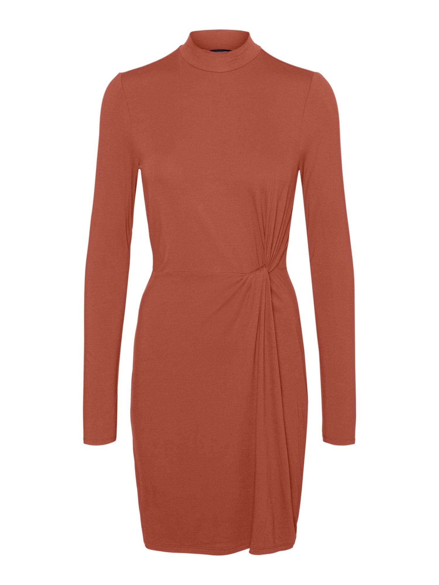 Vero Moda Tall Suknelė tamsiai oranžinė
