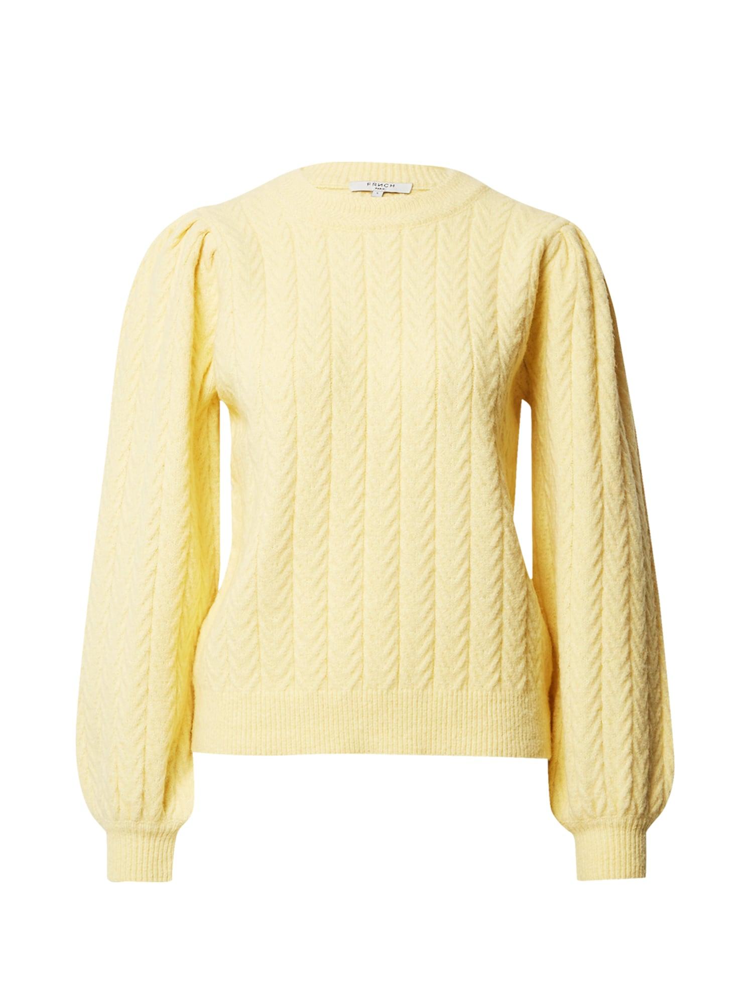 FRNCH PARIS Megztinis šviesiai geltona