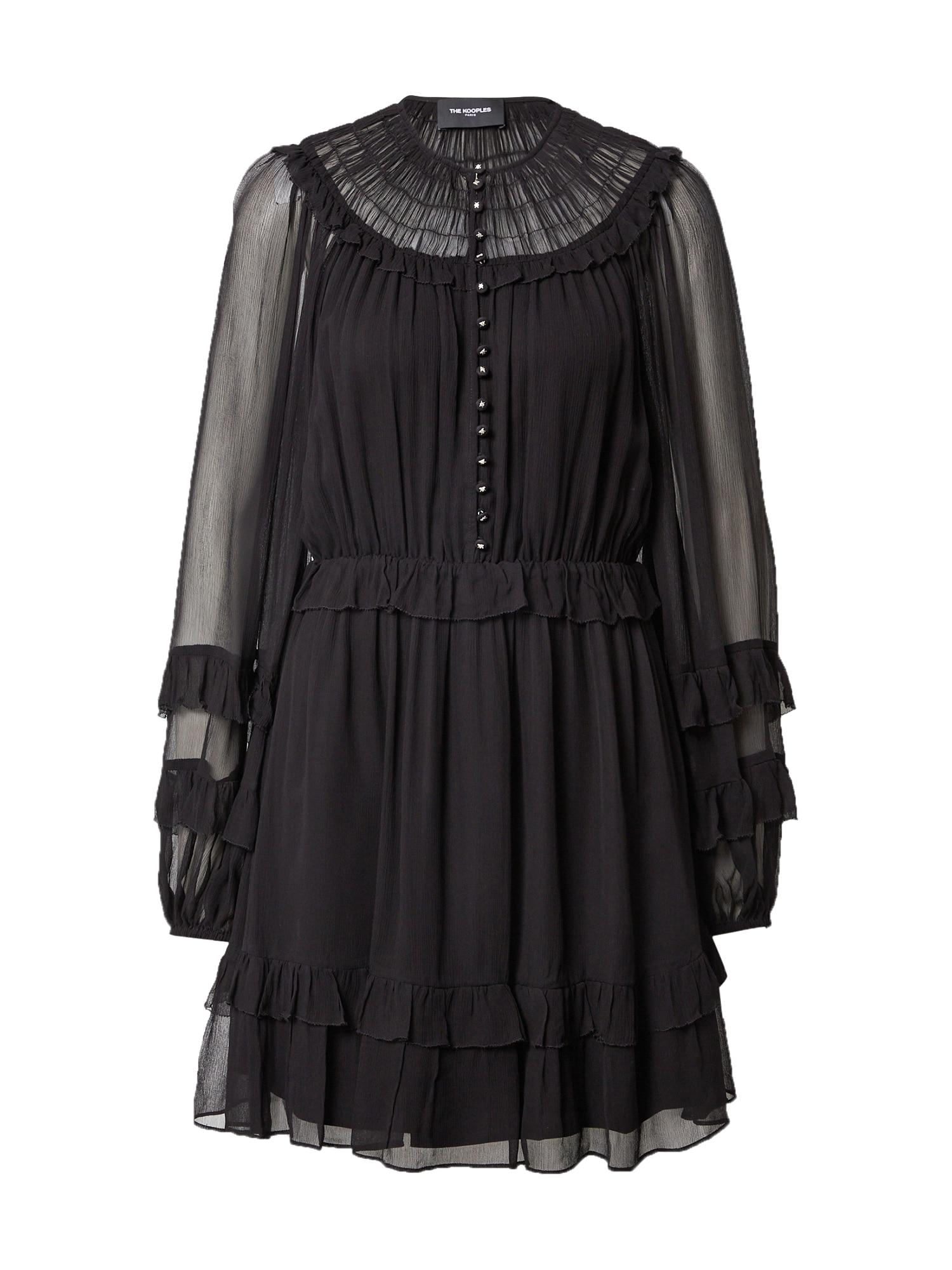 The Kooples Kokteilinė suknelė juoda