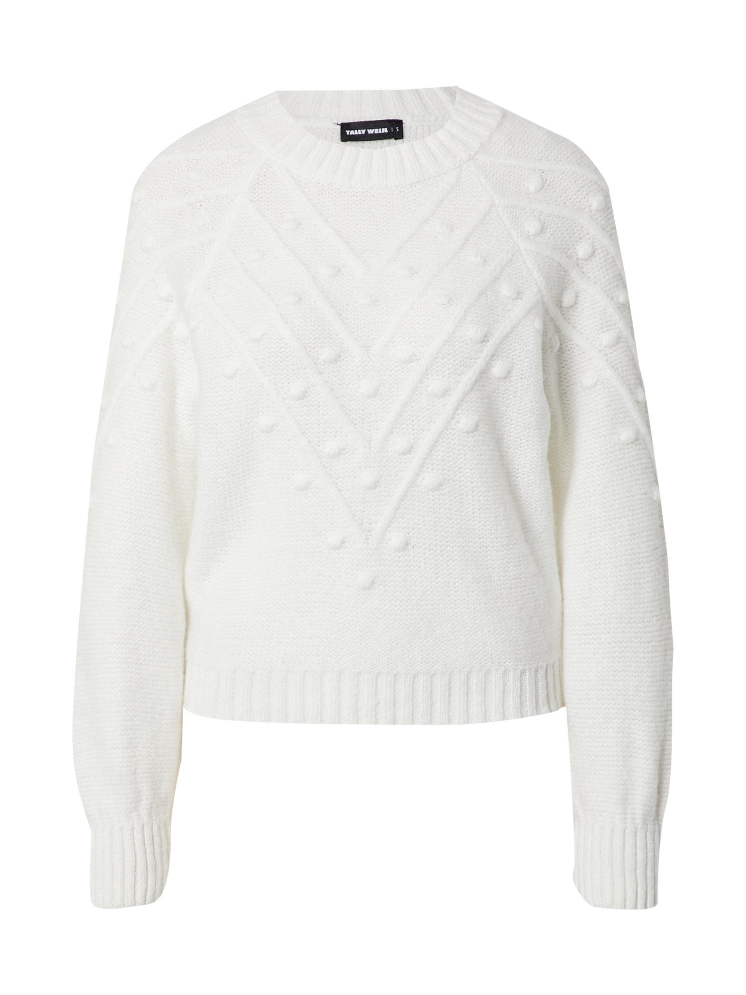 Tally Weijl Megztinis natūrali balta