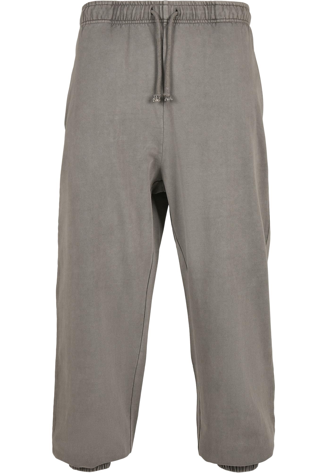 Urban Classics Plus Size Kelnės pilka