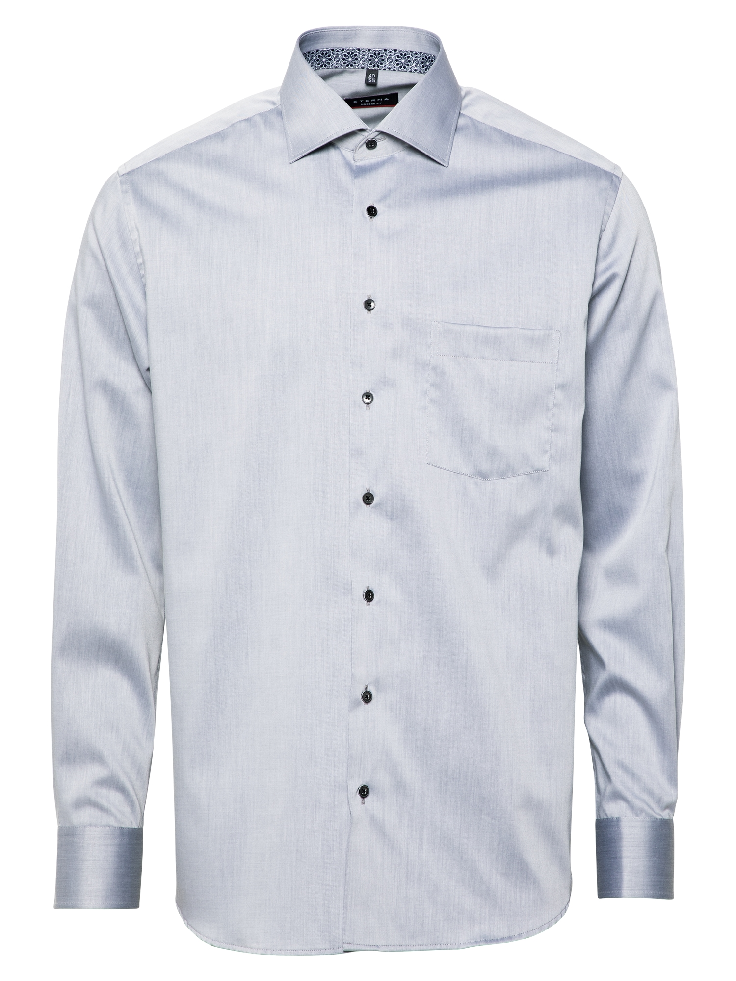 ETERNA Marškiniai sidabro pilka