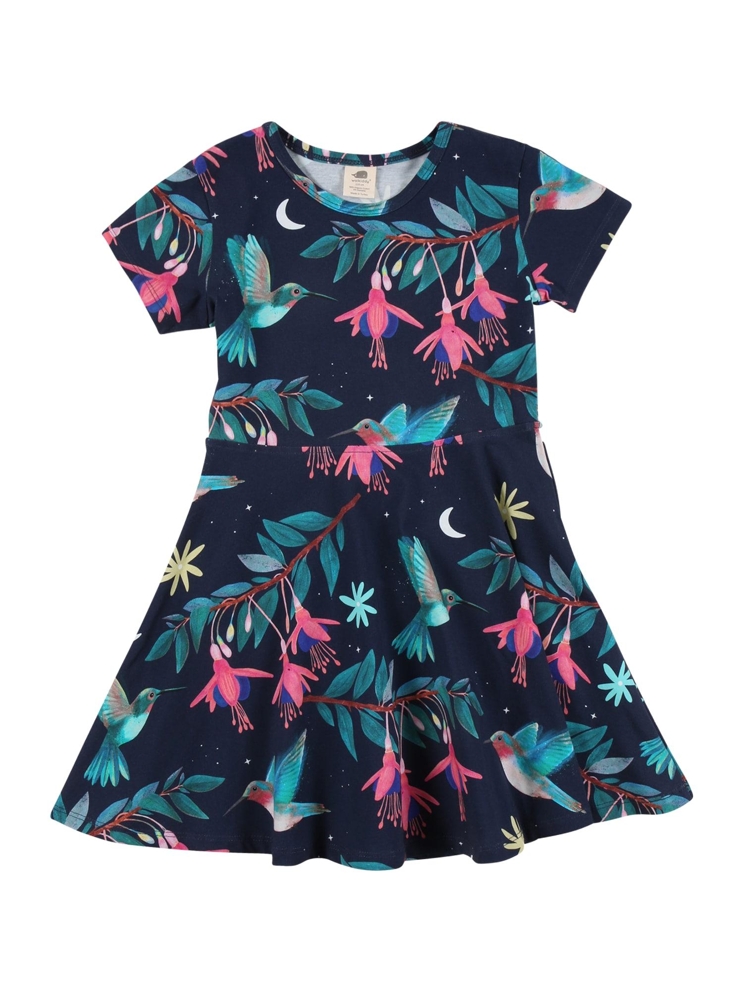 Walkiddy Suknelė tamsiai mėlyna / mišrios spalvos