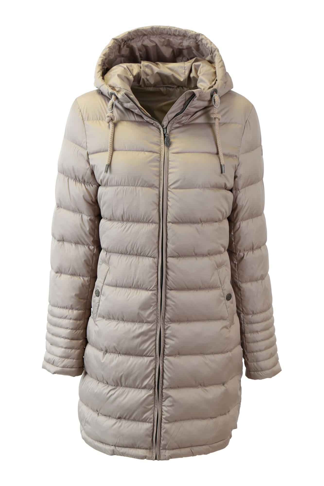 DreiMaster Klassik Žieminis paltas pilka