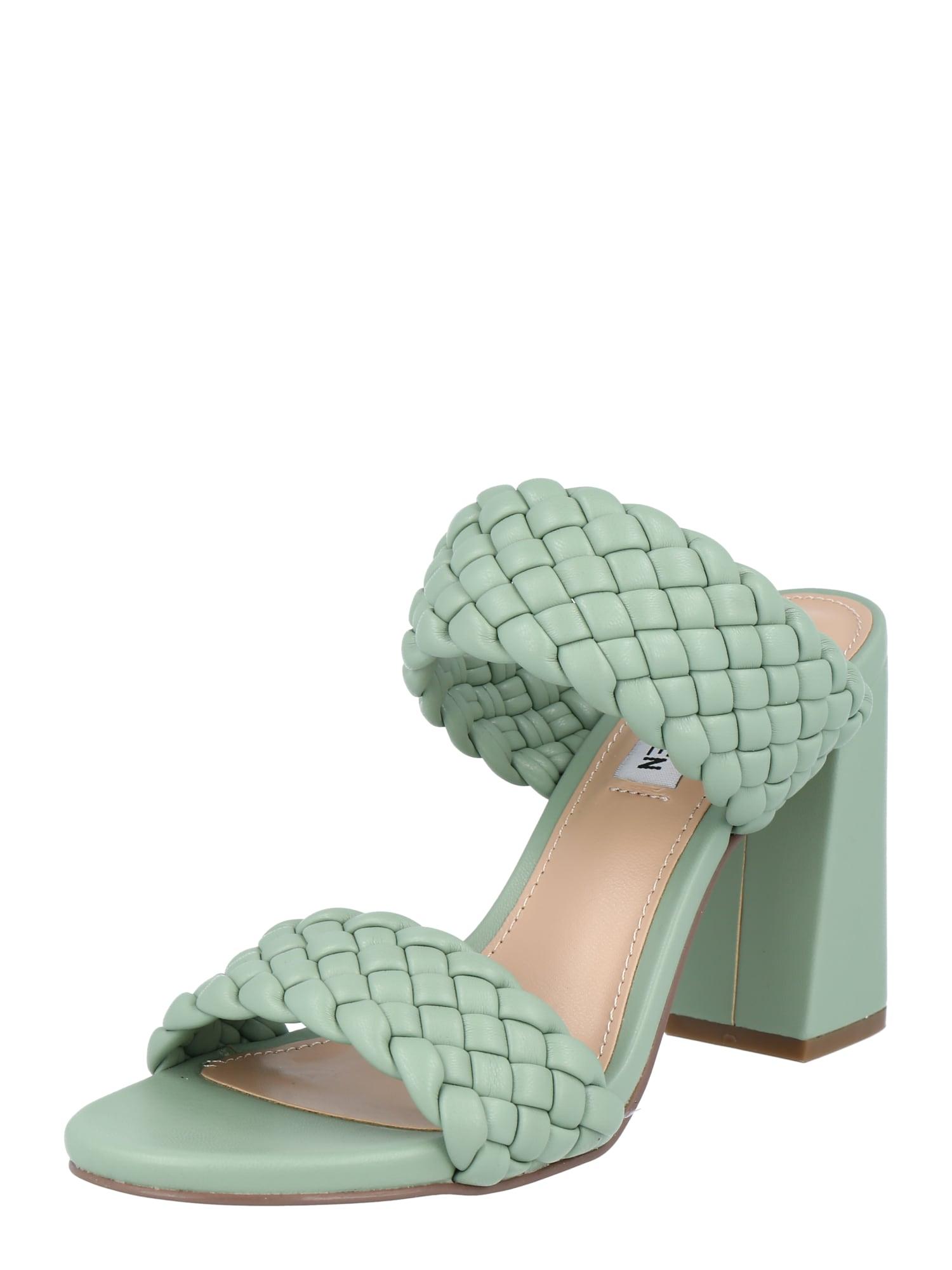 STEVE MADDEN Sandalai pastelinė žalia