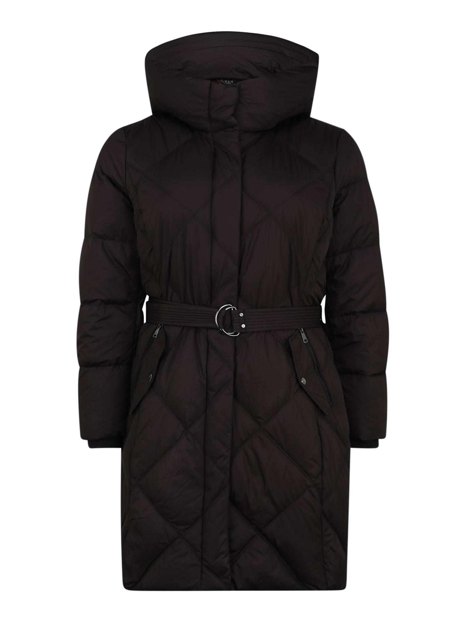 Lauren Ralph Lauren Přechodný kabát  černá
