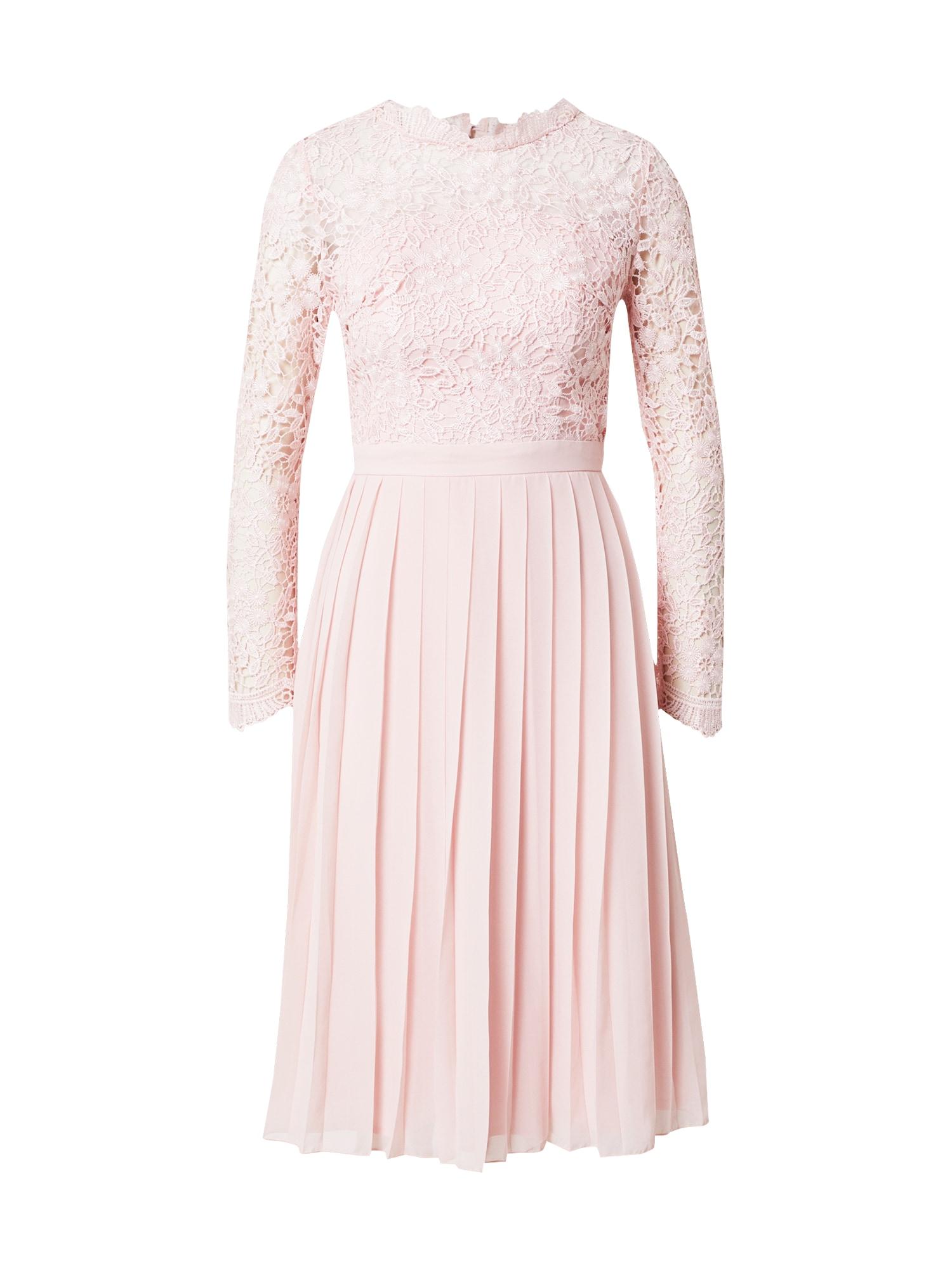 Chi Chi London Kokteilinė suknelė pastelinė rožinė