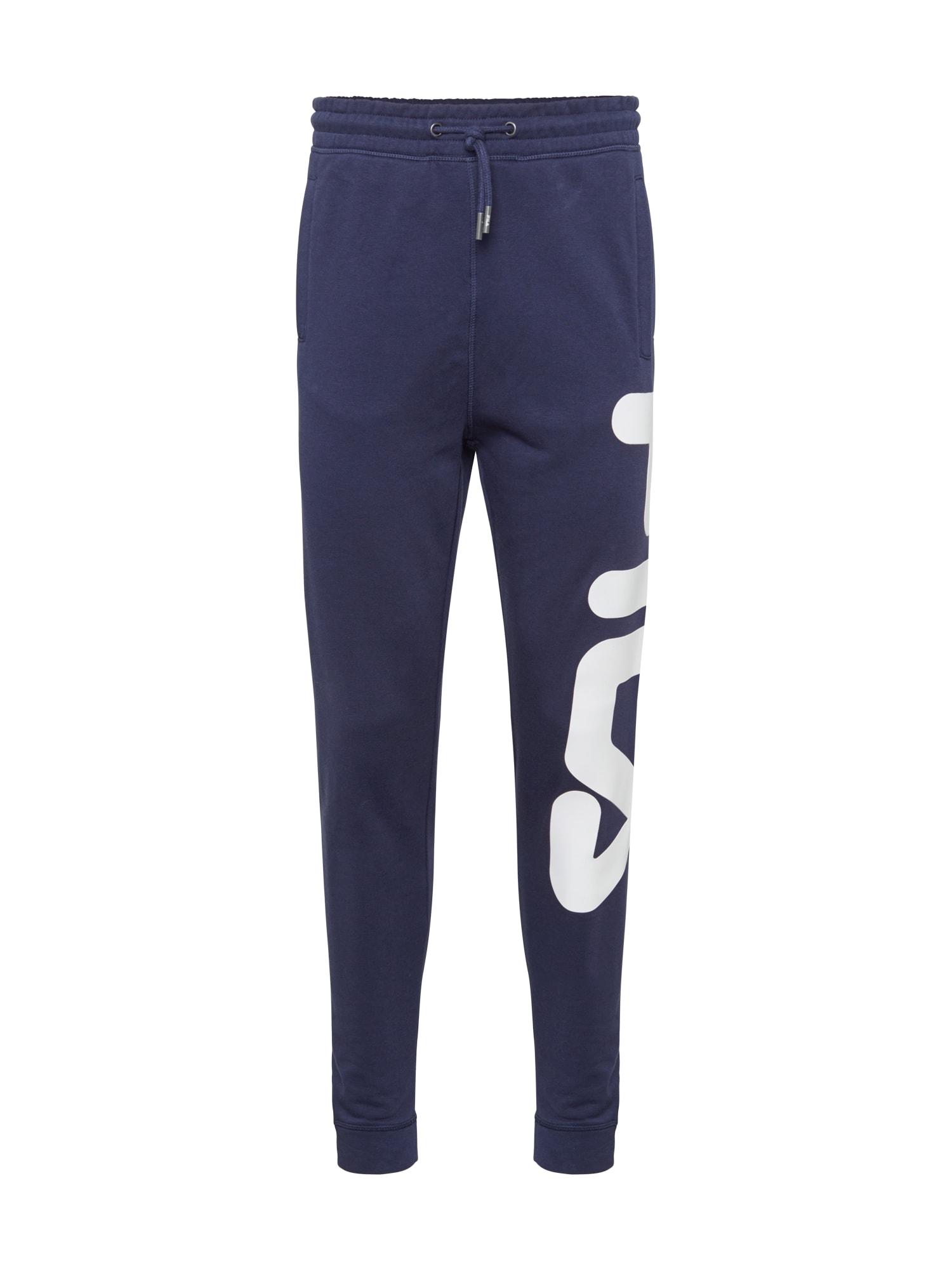 FILA Kalhoty 'PURE'  modrá / bílá