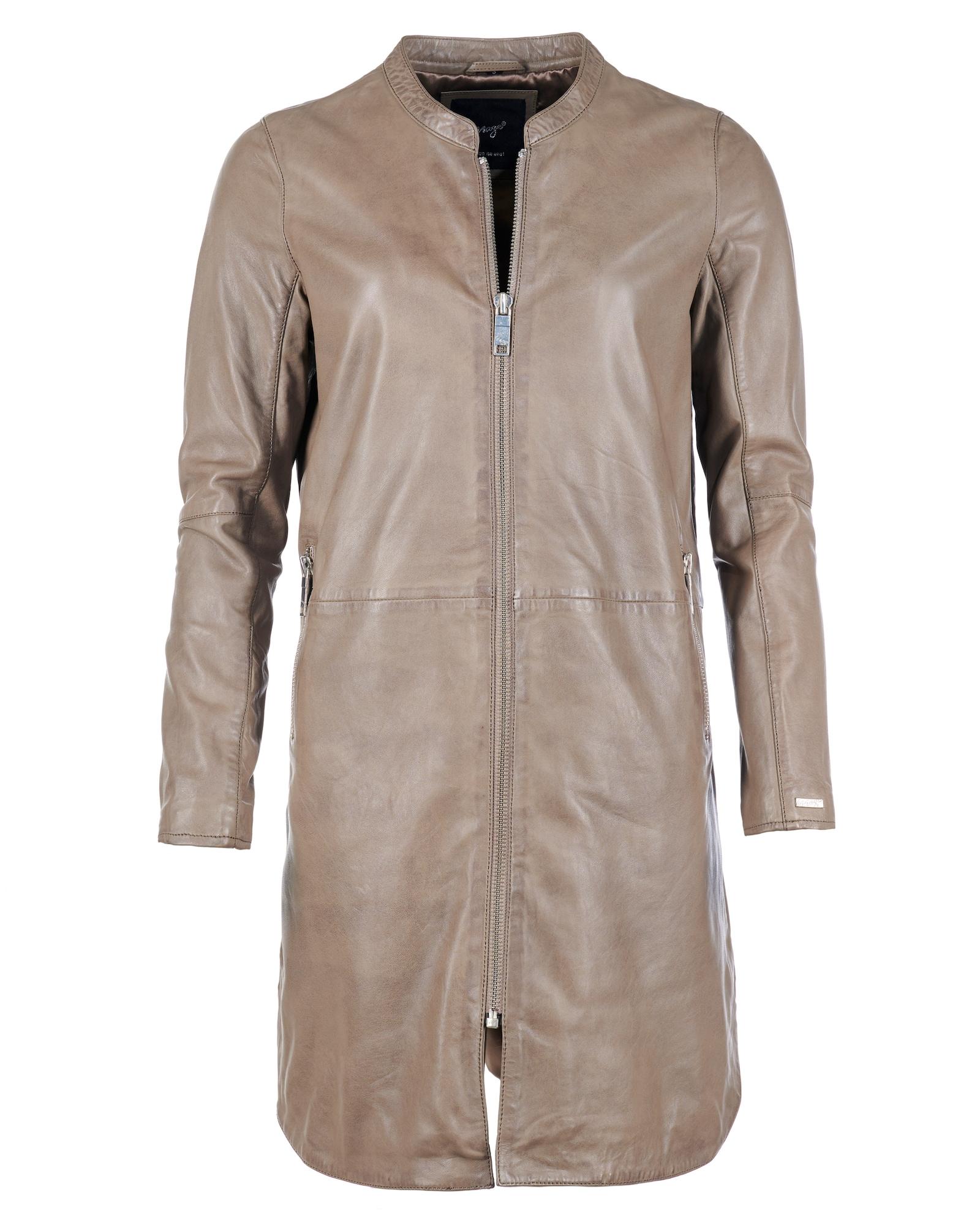 Maze Demisezoninis paltas šviesiai ruda