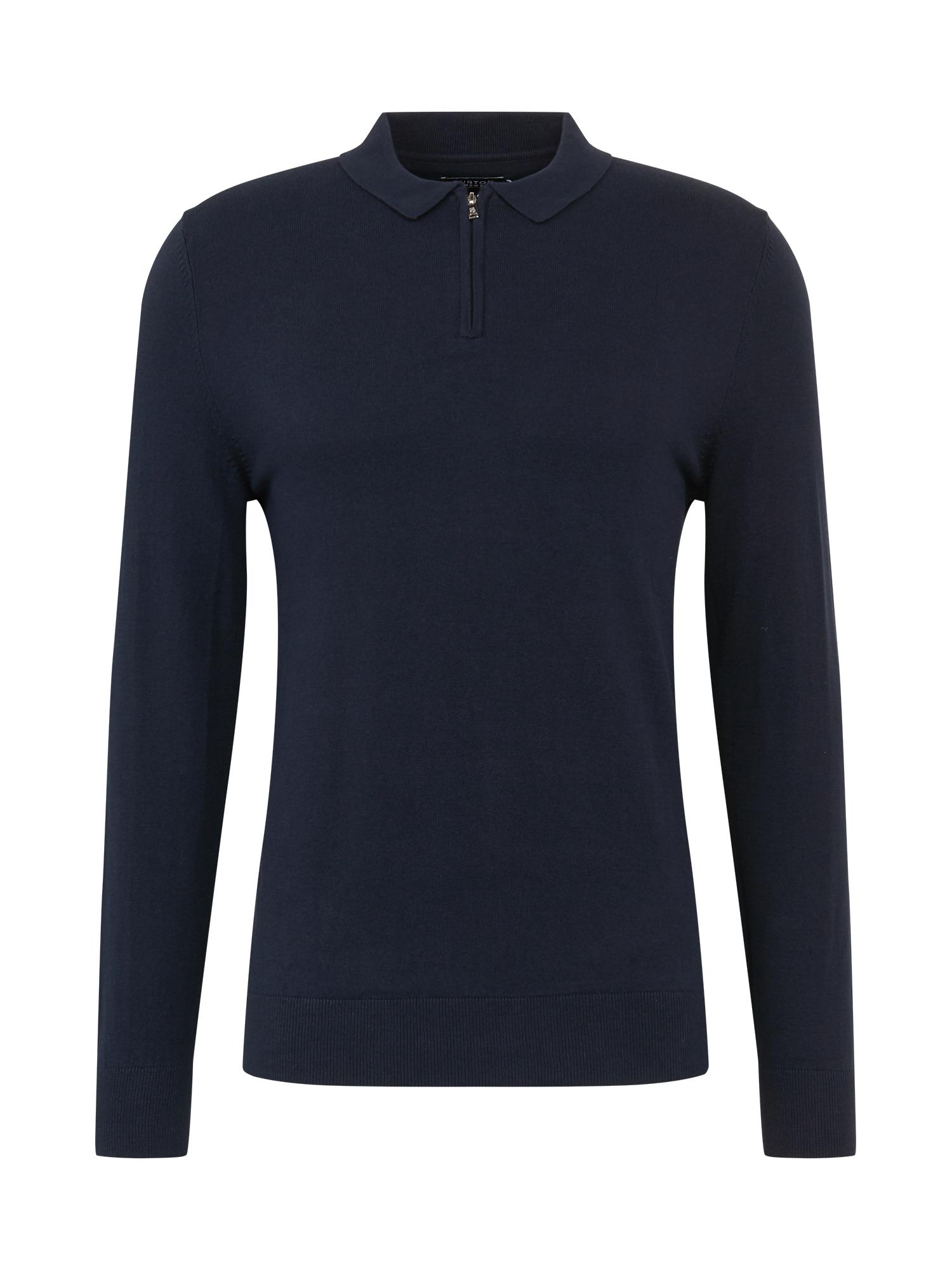 BURTON MENSWEAR LONDON Marškinėliai nakties mėlyna