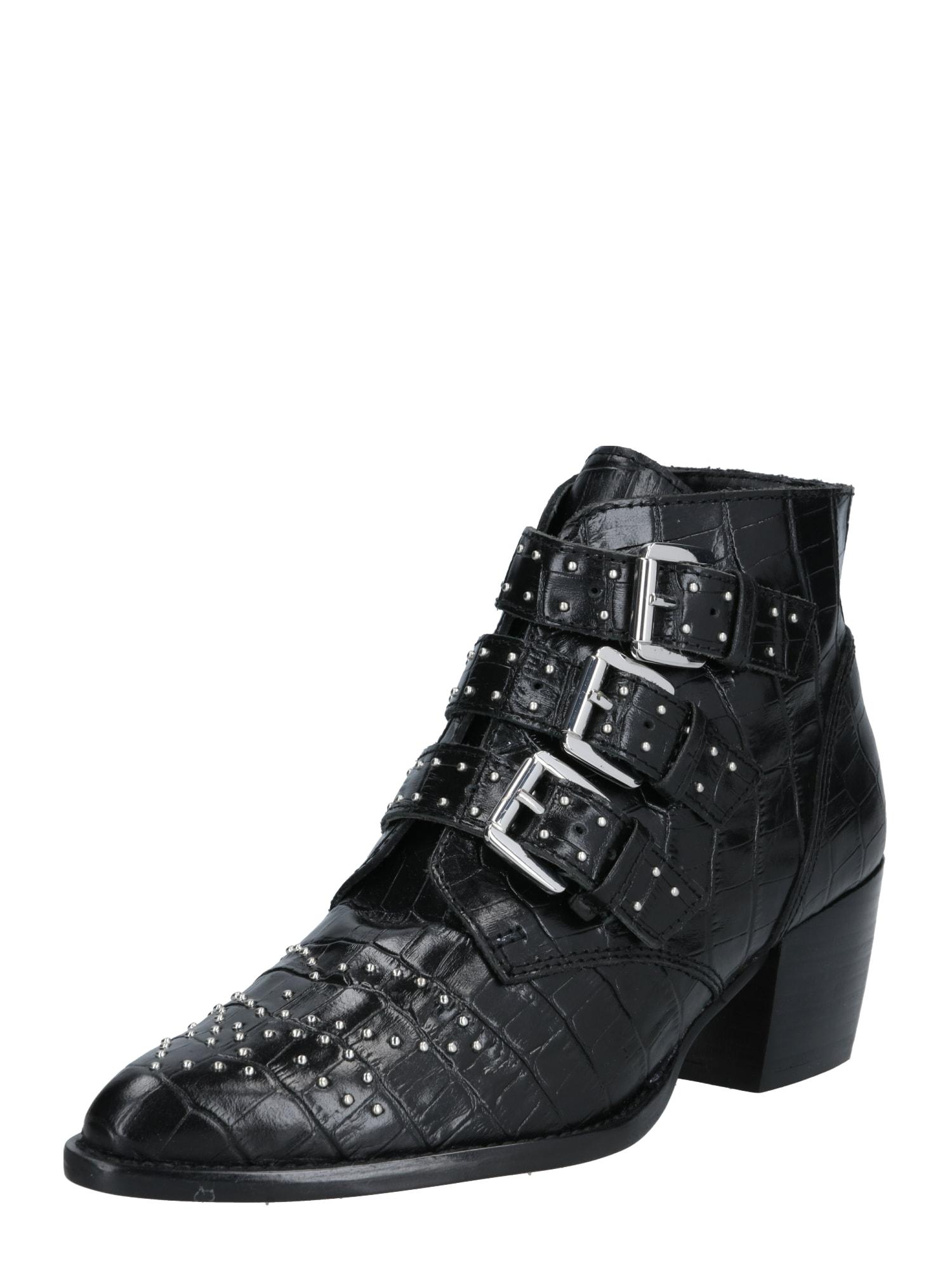 ALDO Členkové čižmy 'Bennevis'  čierna