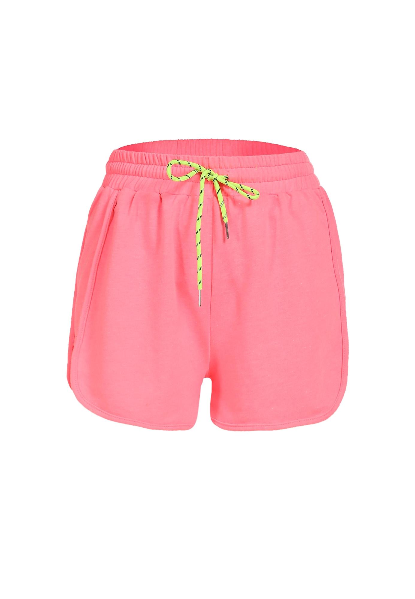 myMo ATHLSR Sportinės kelnės ryškiai rožinė spalva